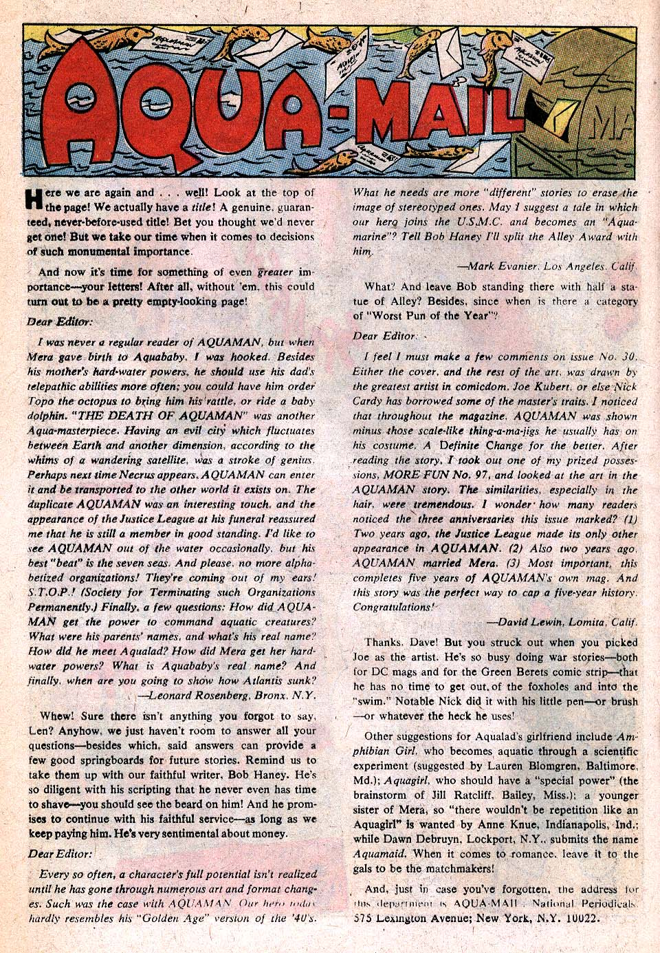 Read online Aquaman (1962) comic -  Issue #32 - 12