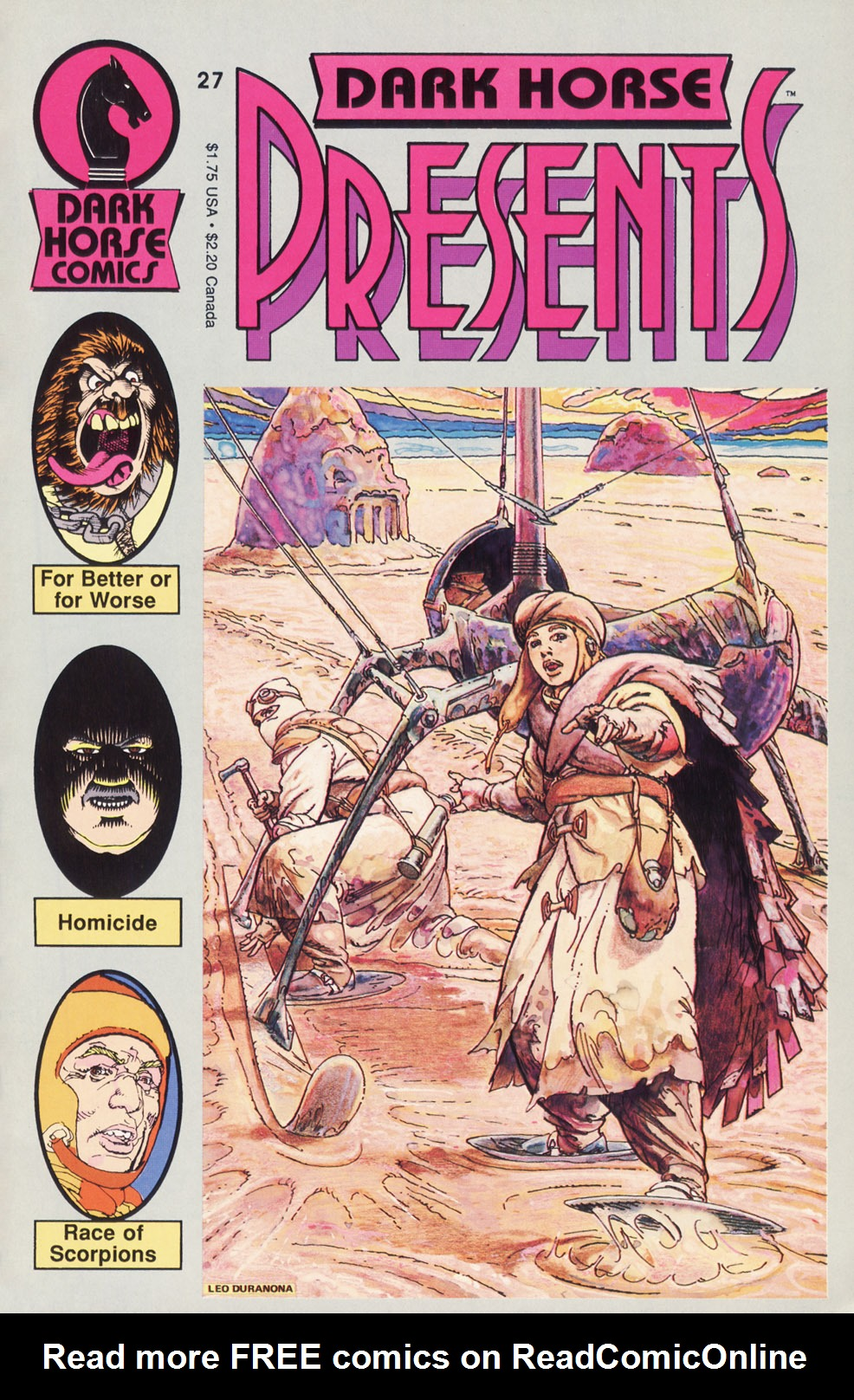 Dark Horse Presents (1986) 27 Page 1
