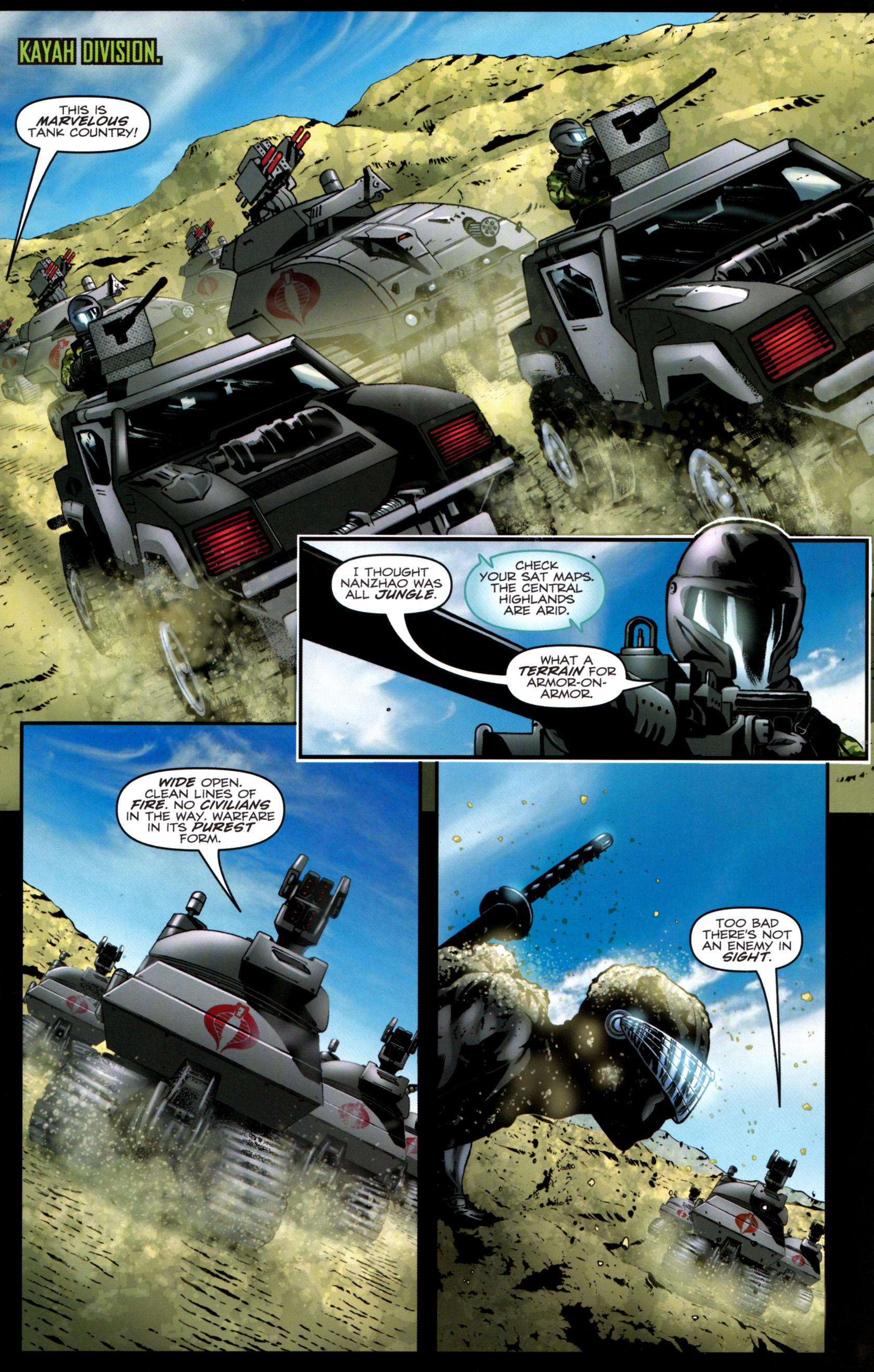 Read online G.I. Joe: Snake Eyes comic -  Issue #9 - 8