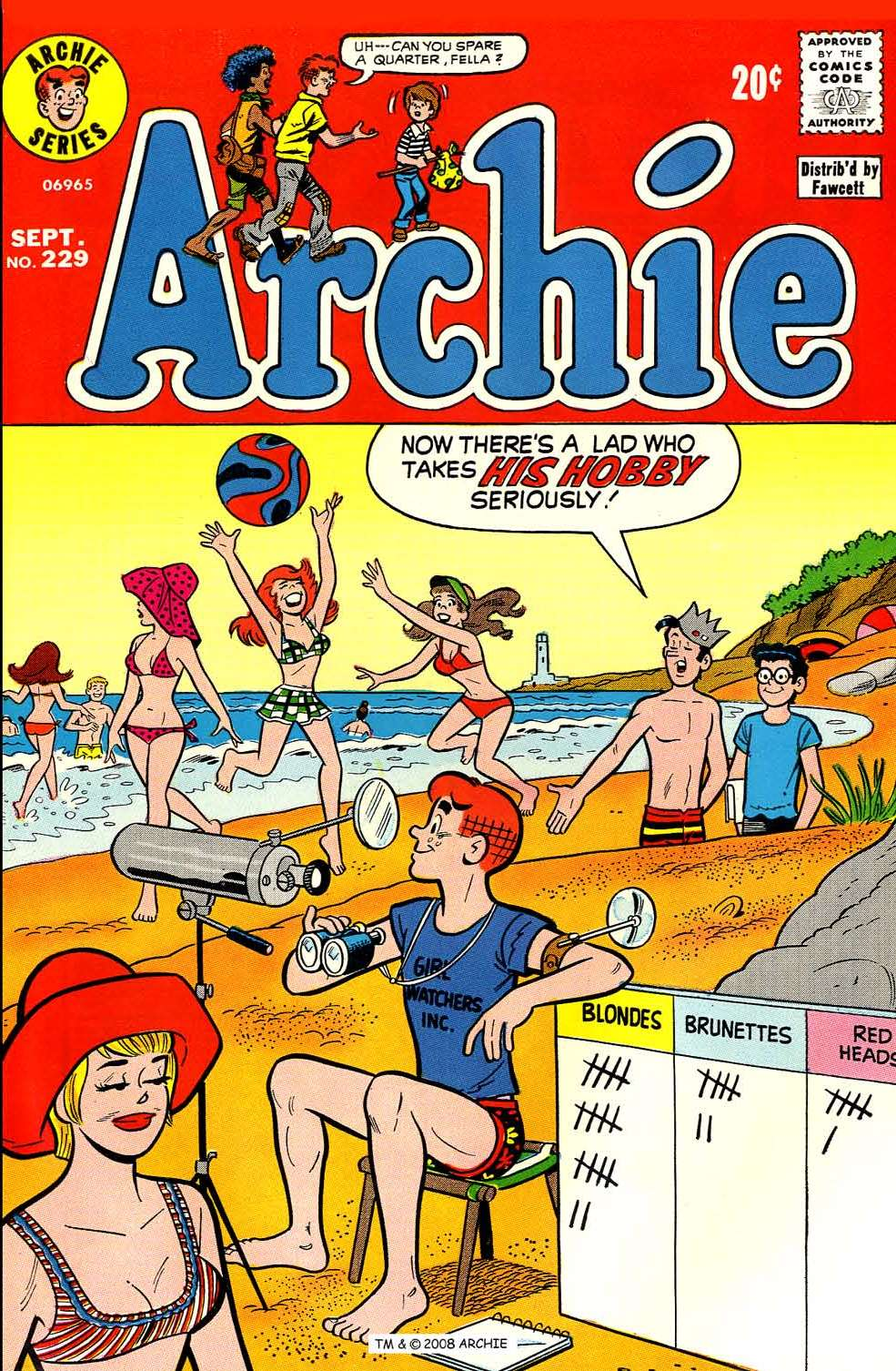 Read online Archie (1960) comic -  Issue #229 - 1