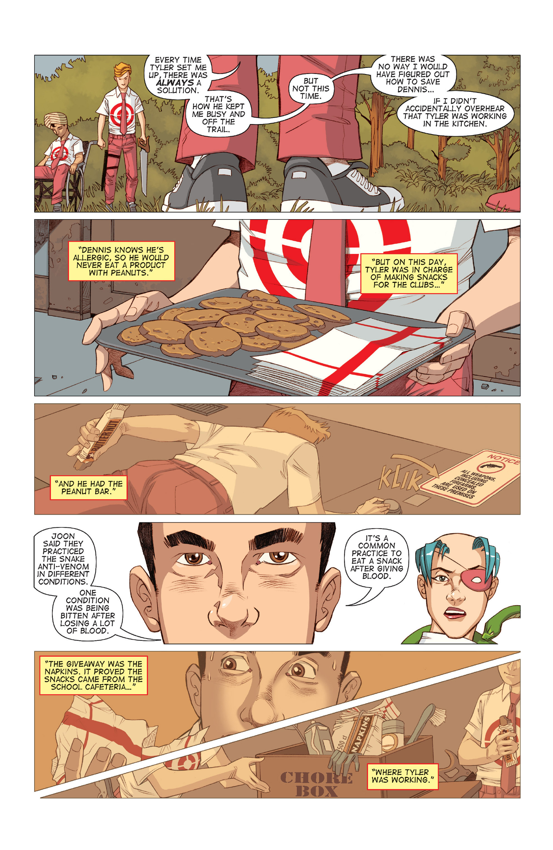 Read online Five Weapons comic -  Issue #9 - 14