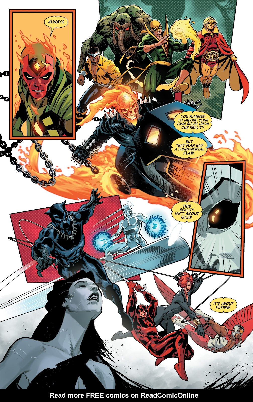 Read online Avengers No Road Home comic -  Issue #10 - 13
