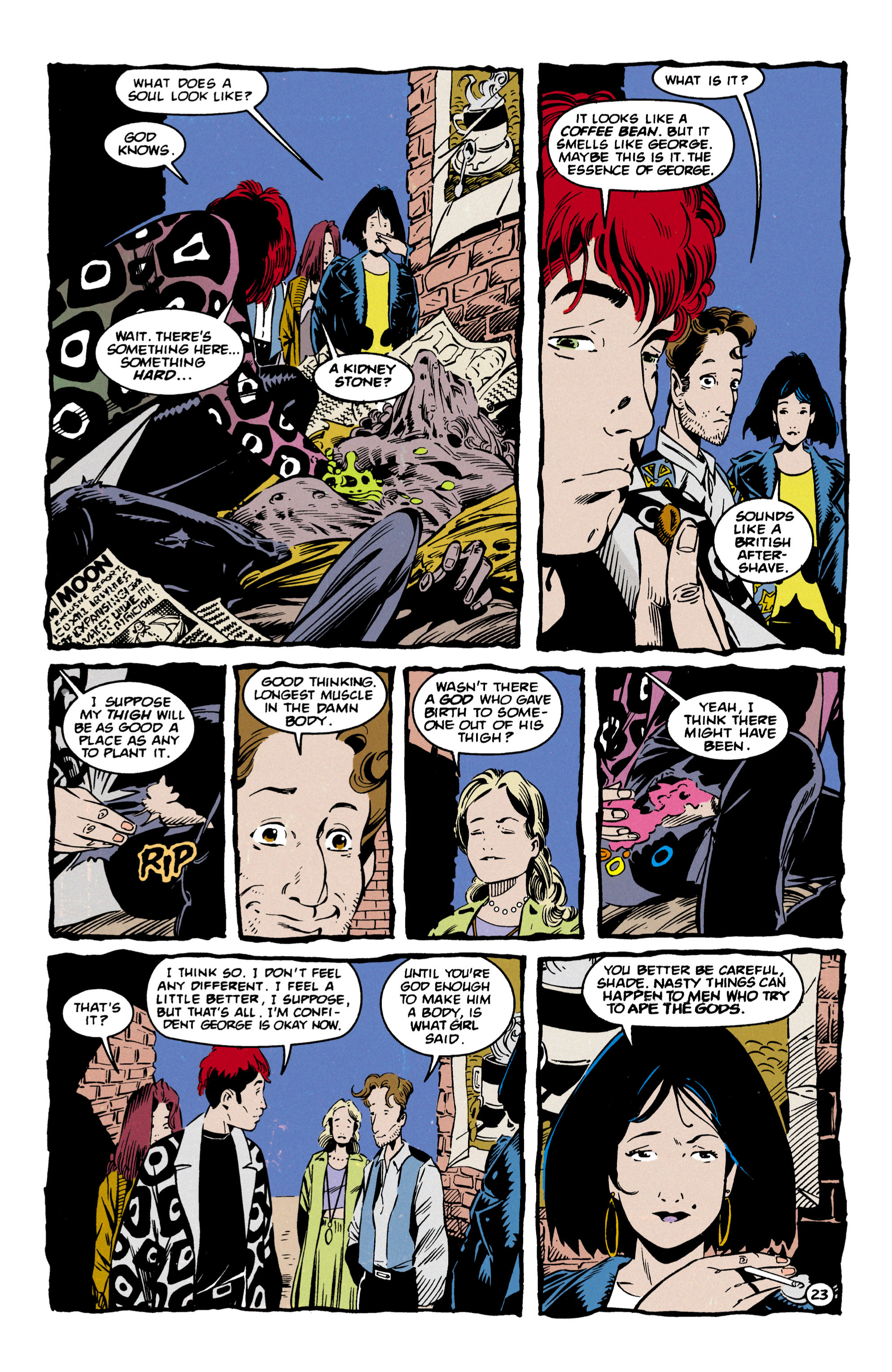 Read online Shade, the Changing Man comic -  Issue #57 - 24