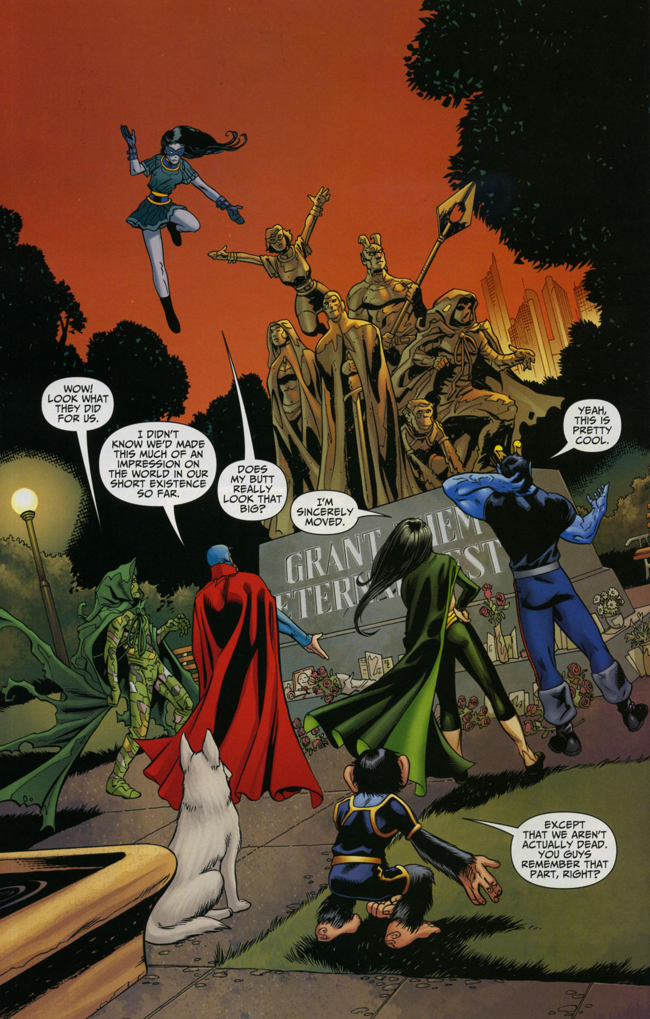 Read online Shadowpact comic -  Issue #5 - 8