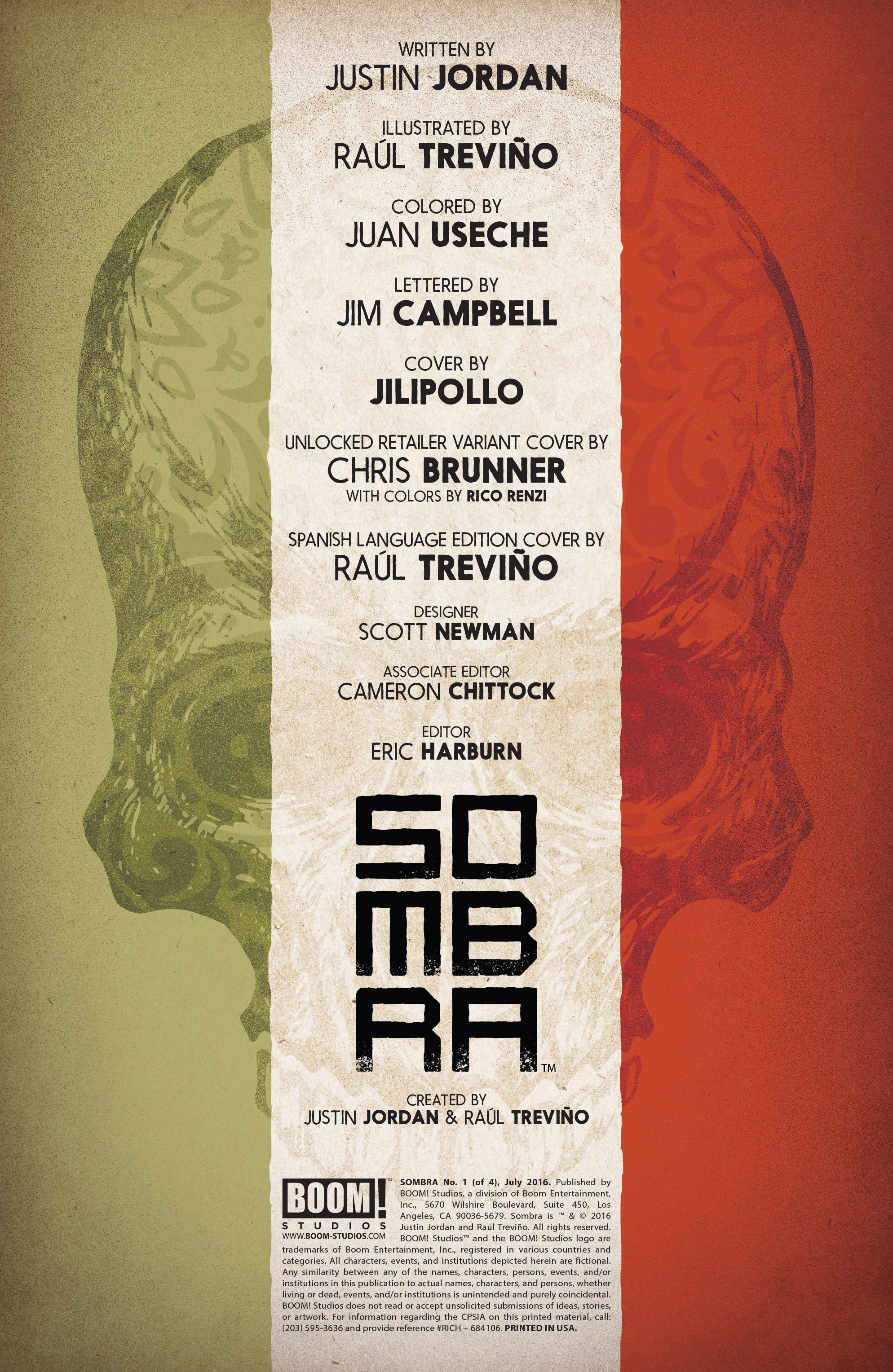 Read online Sombra comic -  Issue #1 - 3