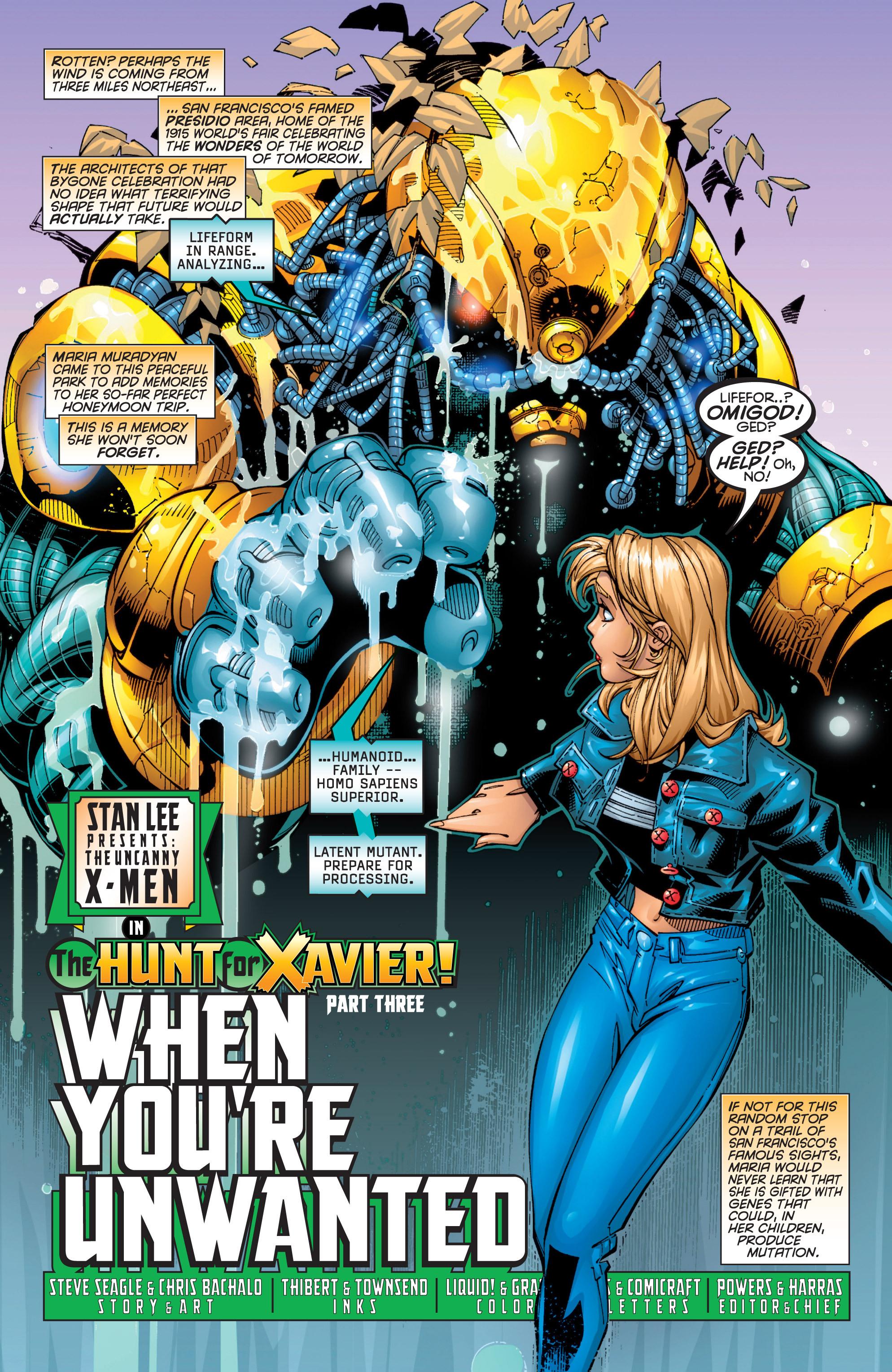 Read online Uncanny X-Men (1963) comic -  Issue #363 - 7