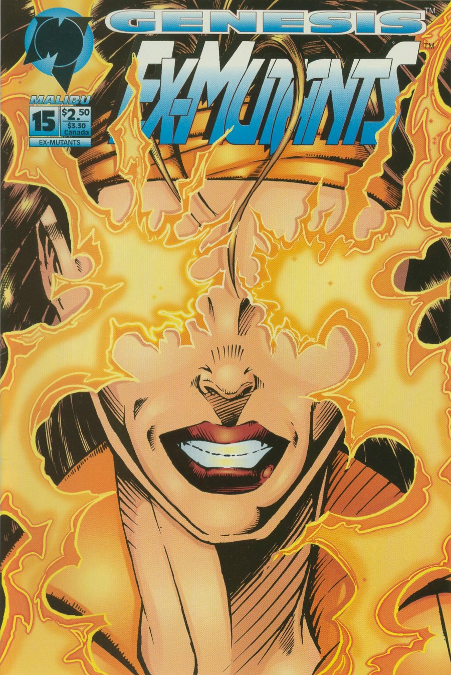 Read online Ex-Mutants comic -  Issue #15 - 1