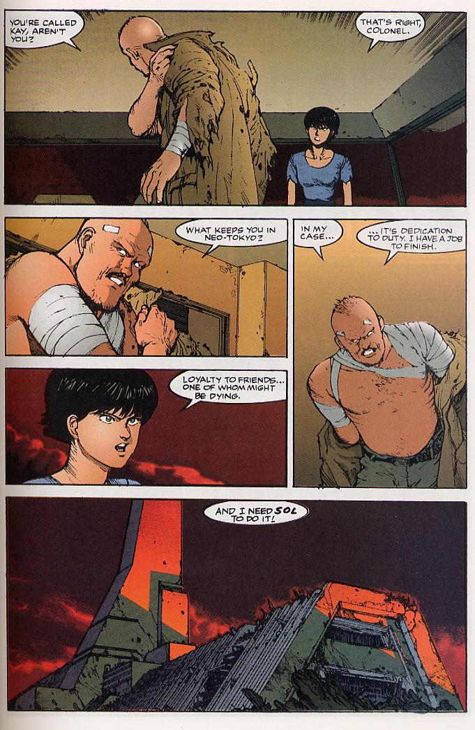 Read online Akira comic -  Issue #24 - 41