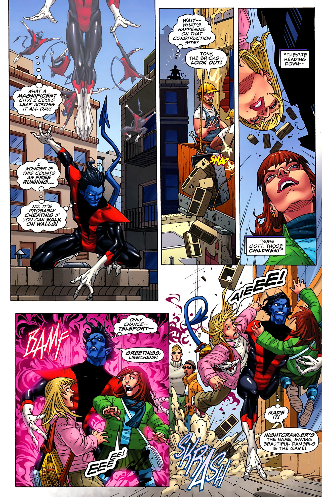 Read online Uncanny X-Men: First Class comic -  Issue #1 - 3