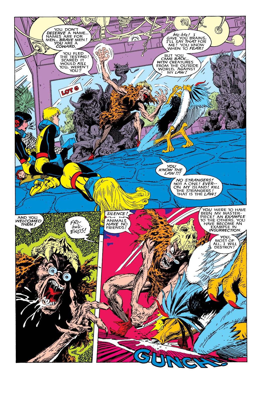 Read online X-Men Milestones: Fall of the Mutants comic -  Issue # TPB (Part 2) - 18