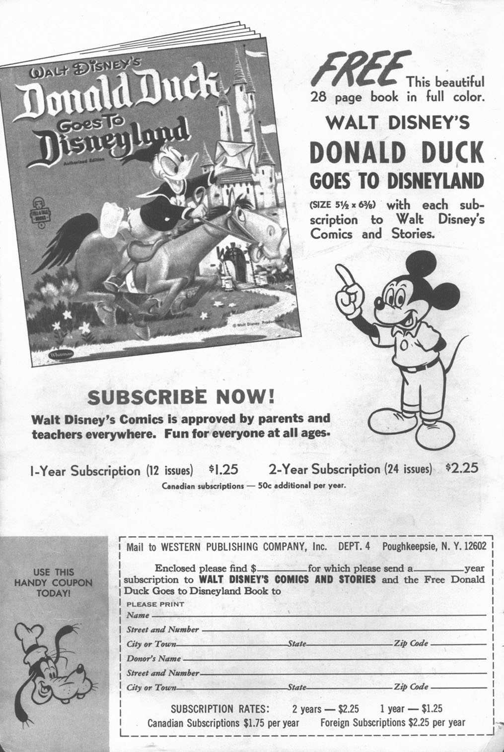 Walt Disney's Comics and Stories issue 331 - Page 2