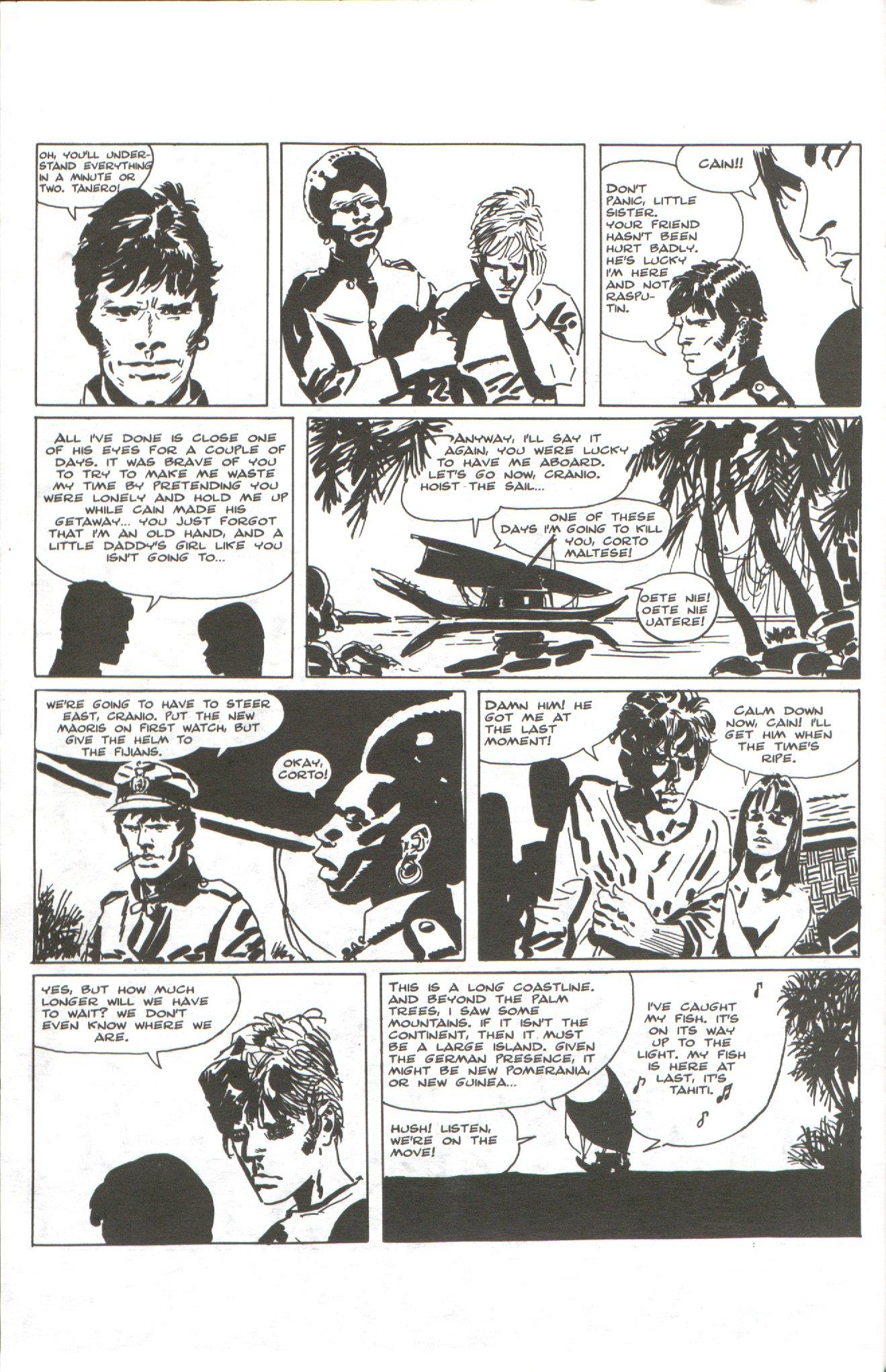 Read online Corto Maltese: Ballad of the Salt Sea comic -  Issue #1 - 26