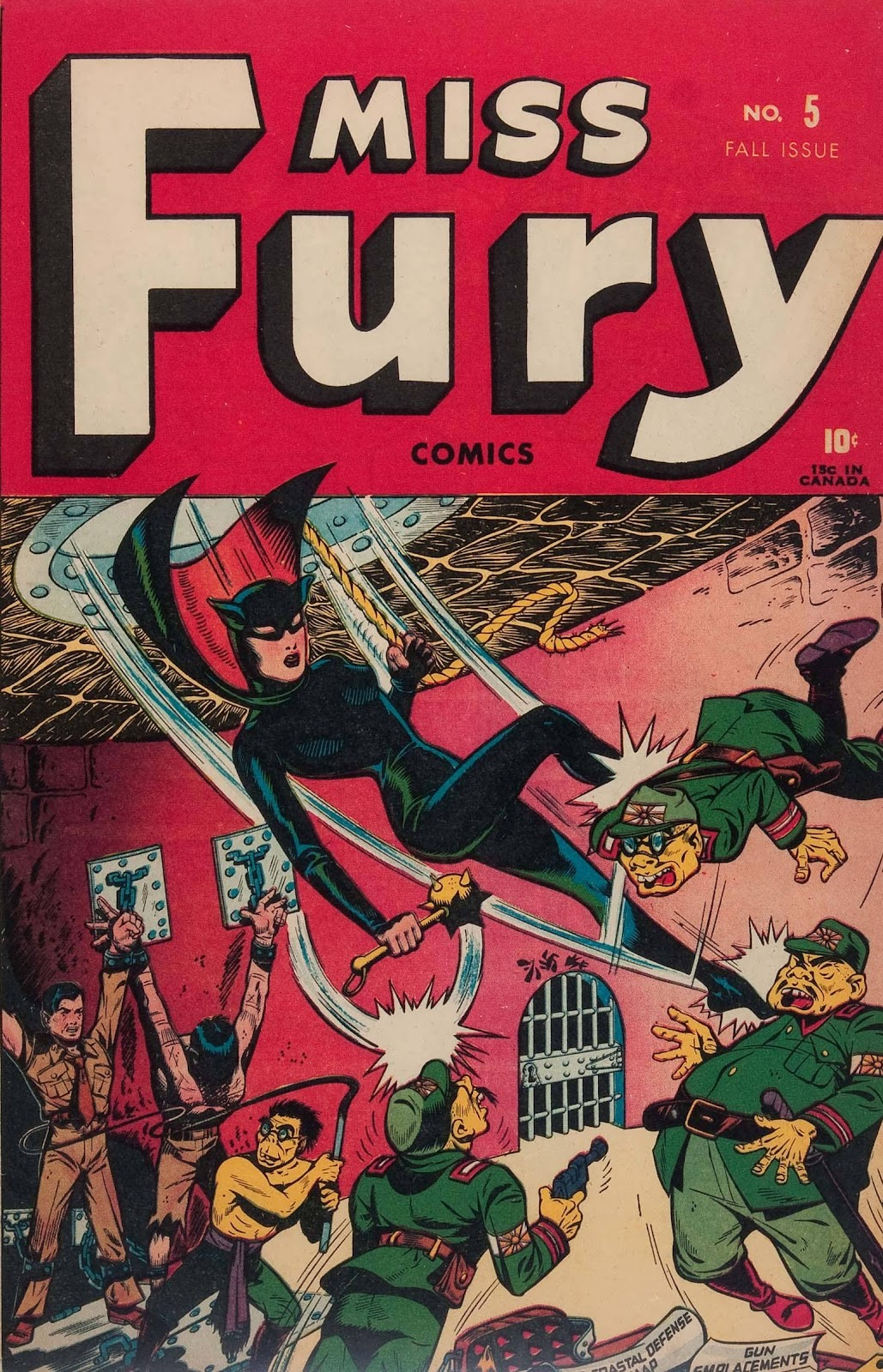 Miss Fury (1942) issue 5 - Page 1
