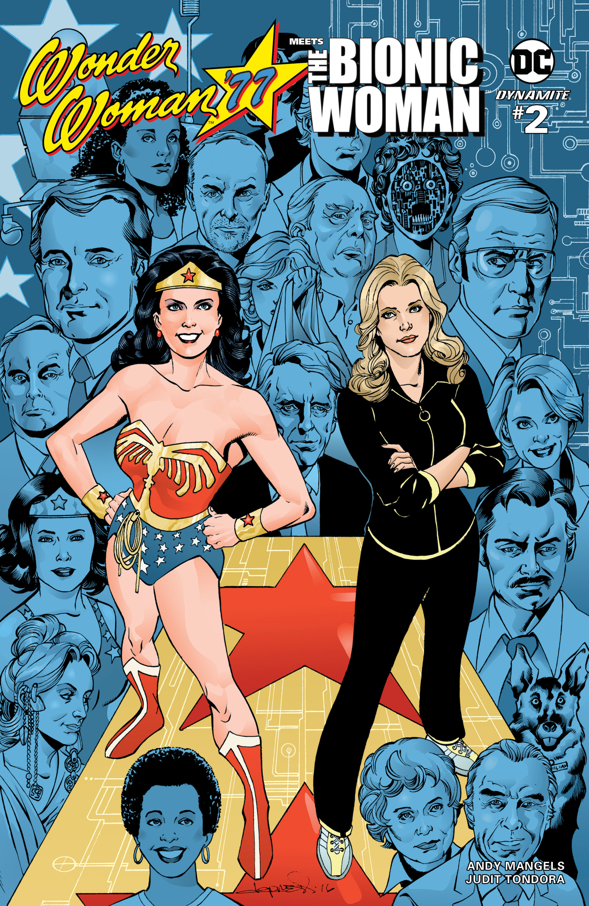 Read online Wonder Woman '77 Meets The Bionic Woman comic -  Issue #2 - 2