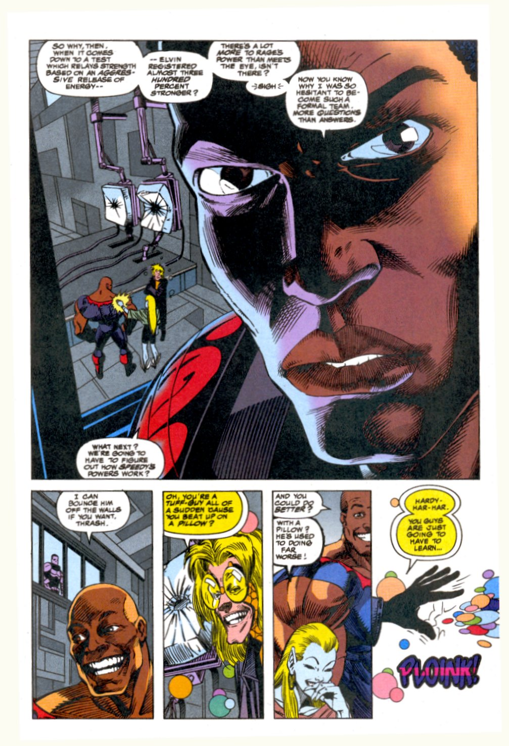 The New Warriors Issue #52 #56 - English 9