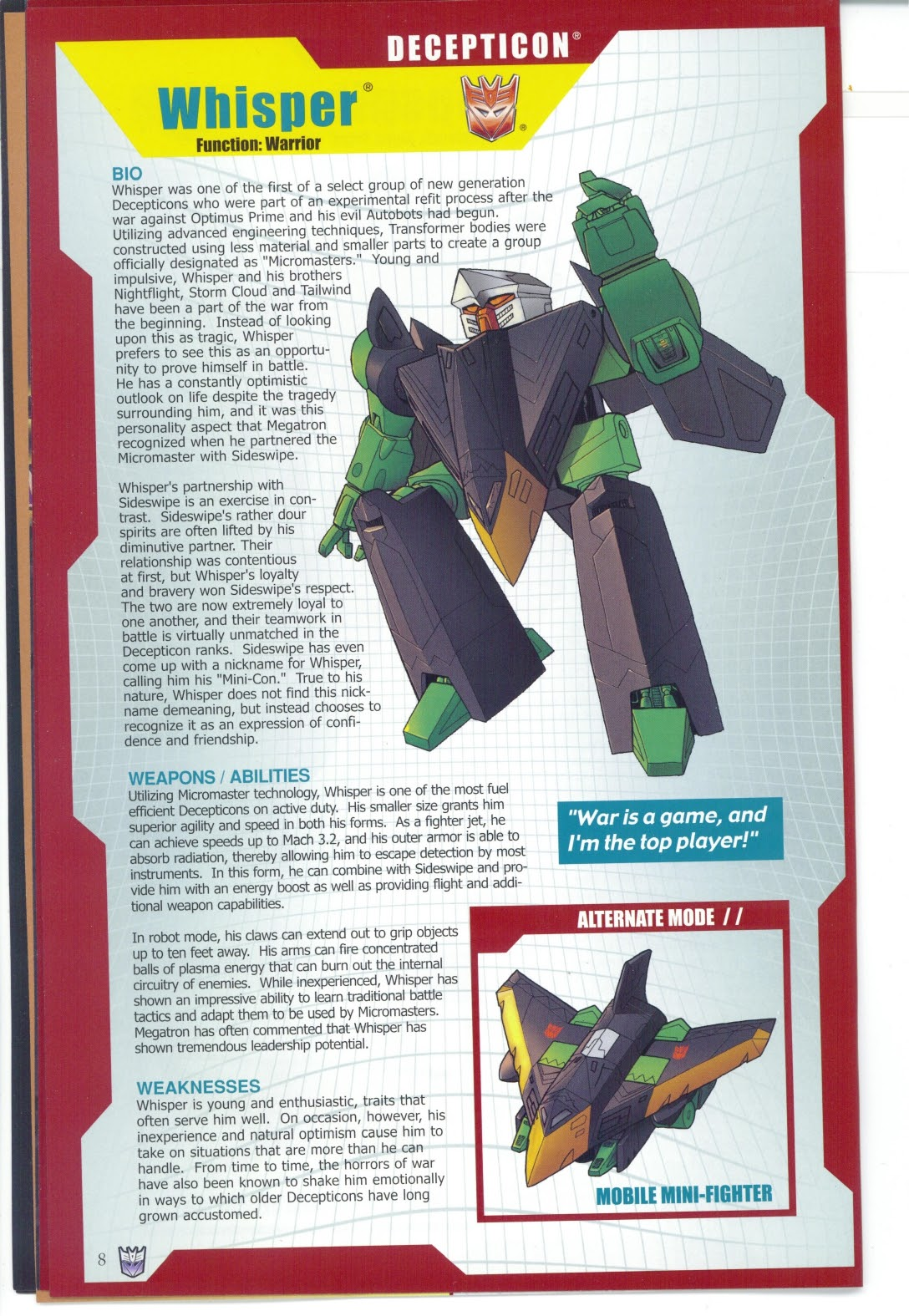 Read online Transformers: Collectors' Club comic -  Issue #25 - 8