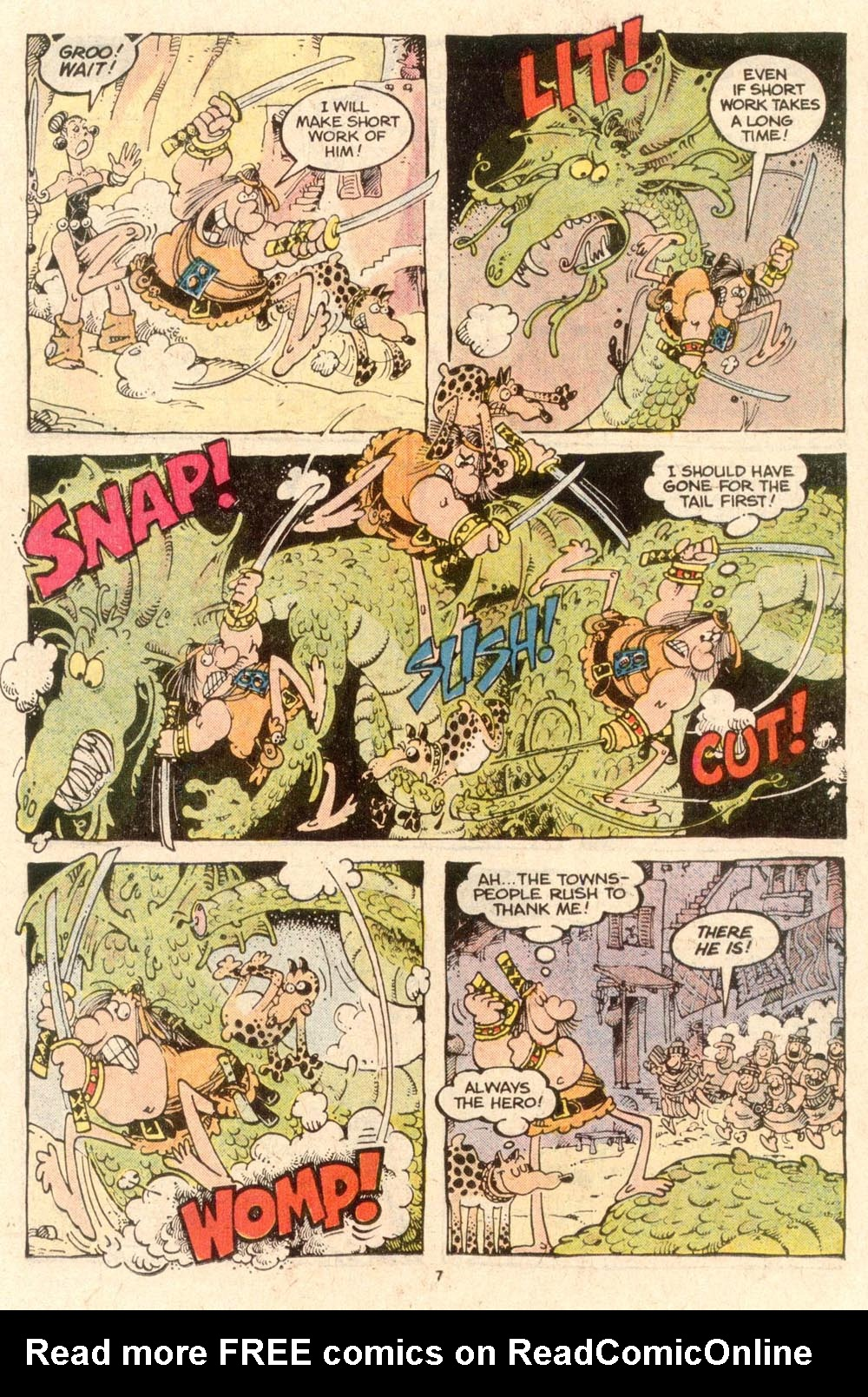 Read online Sergio Aragonés Groo the Wanderer comic -  Issue #53 - 7
