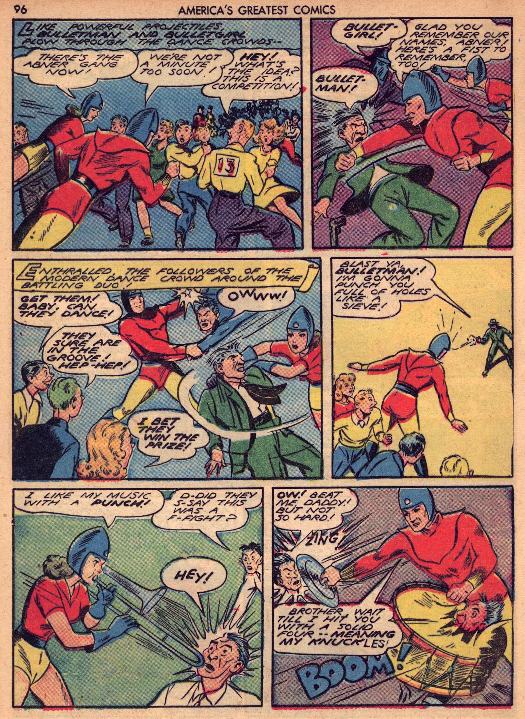 Read online America's Greatest Comics comic -  Issue #7 - 95