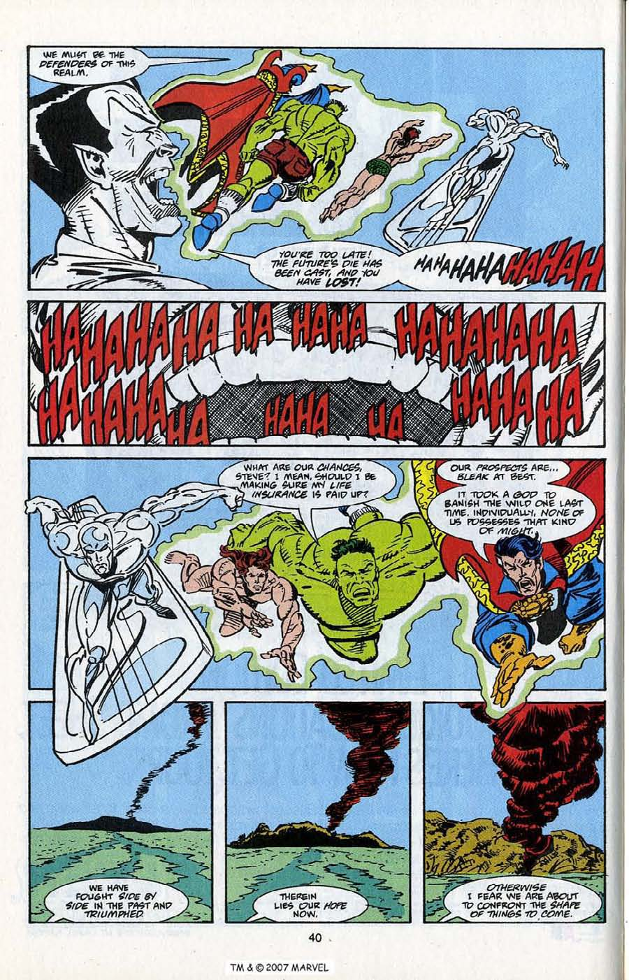 Read online Silver Surfer (1987) comic -  Issue # _Annual 5 - 42