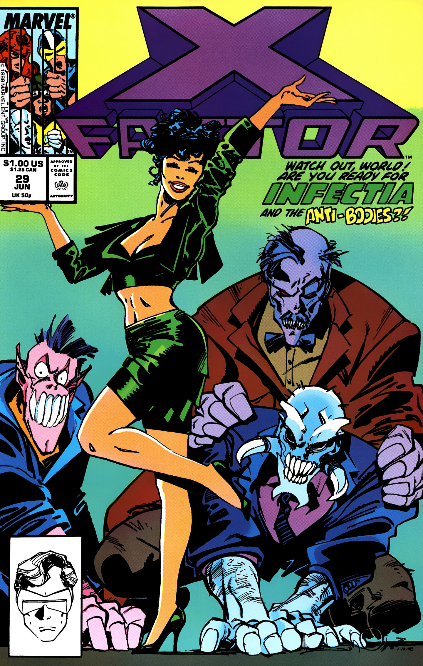Read online X-Factor (1986) comic -  Issue #29 - 1