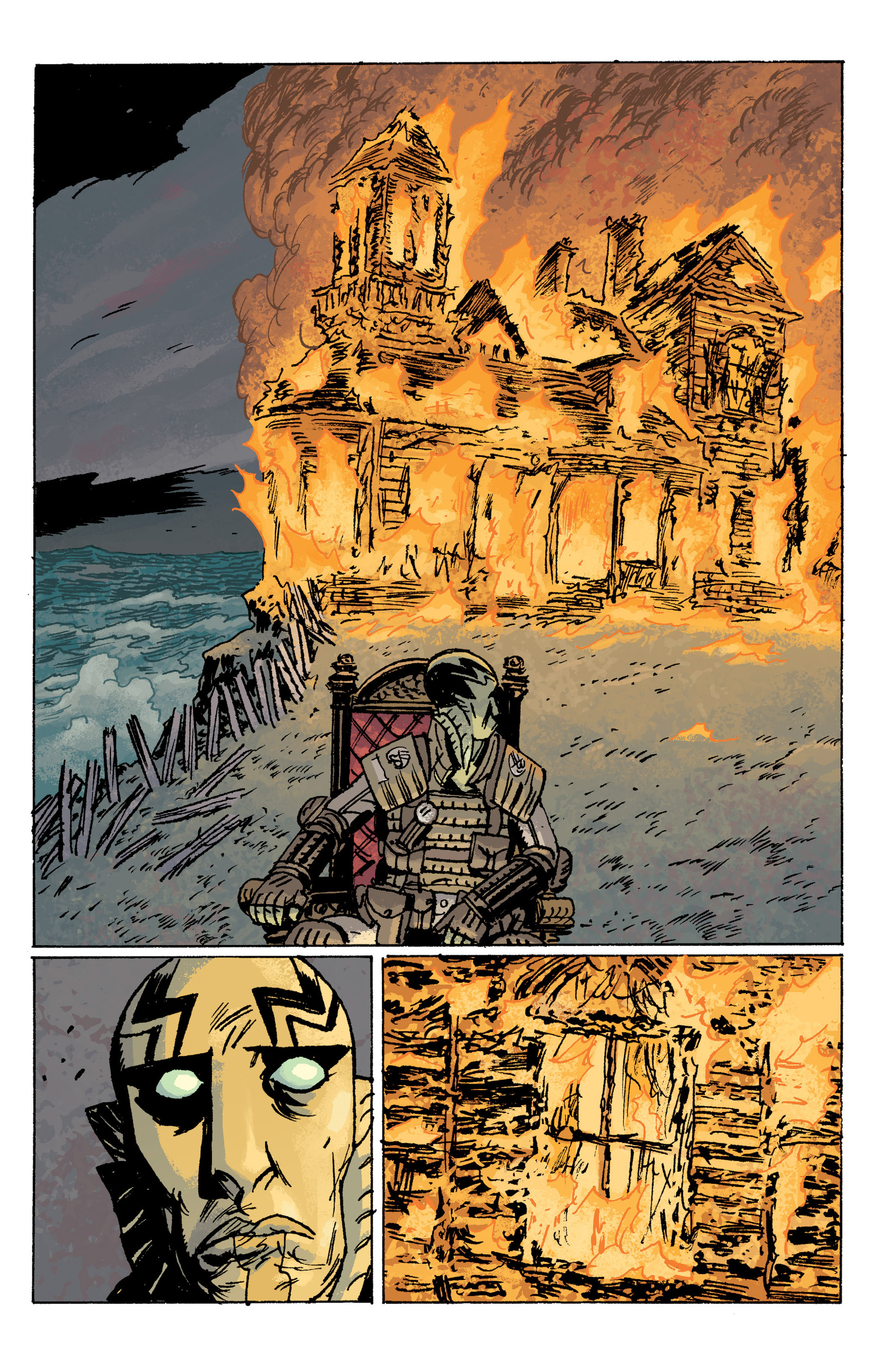 Read online B.P.R.D. (2003) comic -  Issue # TPB 10 - 118