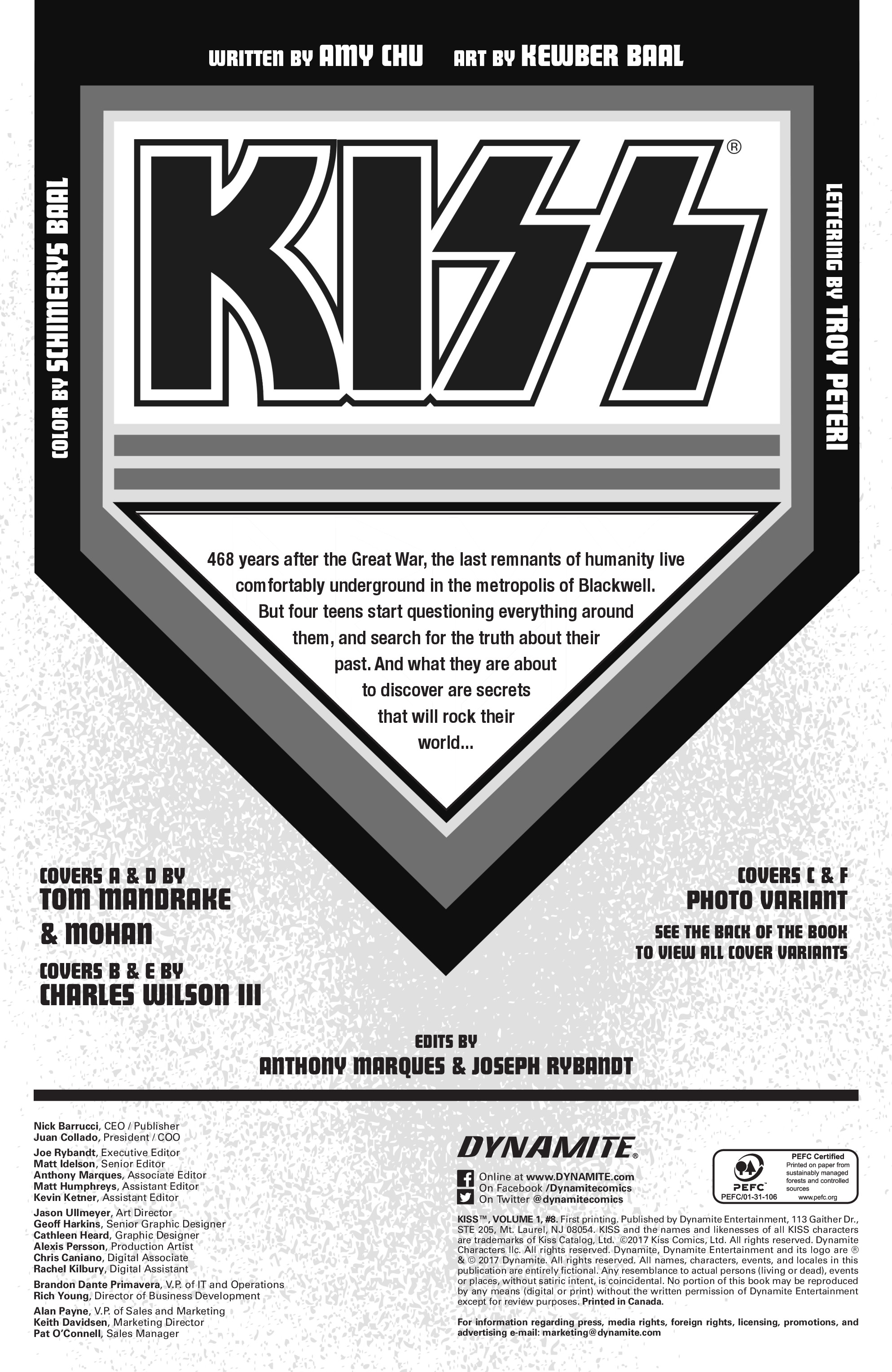 Read online KISS comic -  Issue #8 - 4