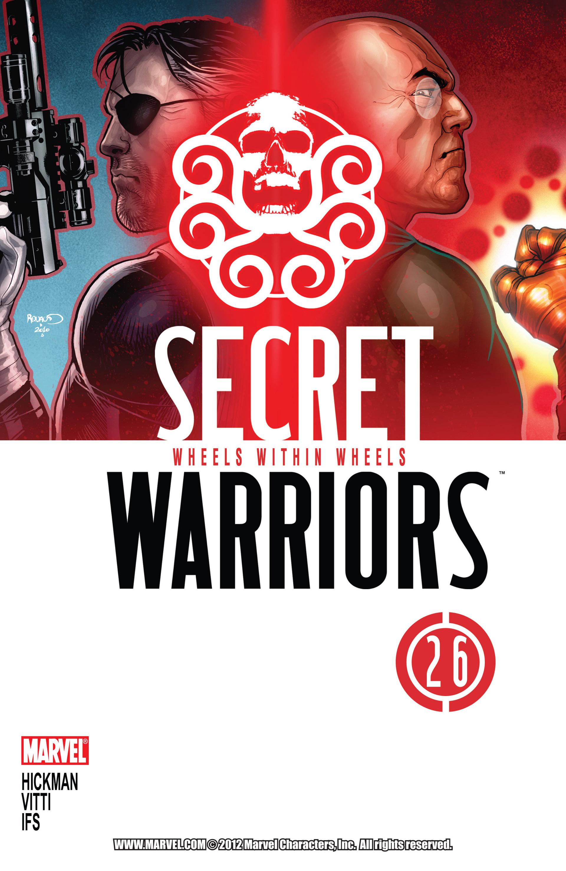Read online Secret Warriors comic -  Issue #26 - 2