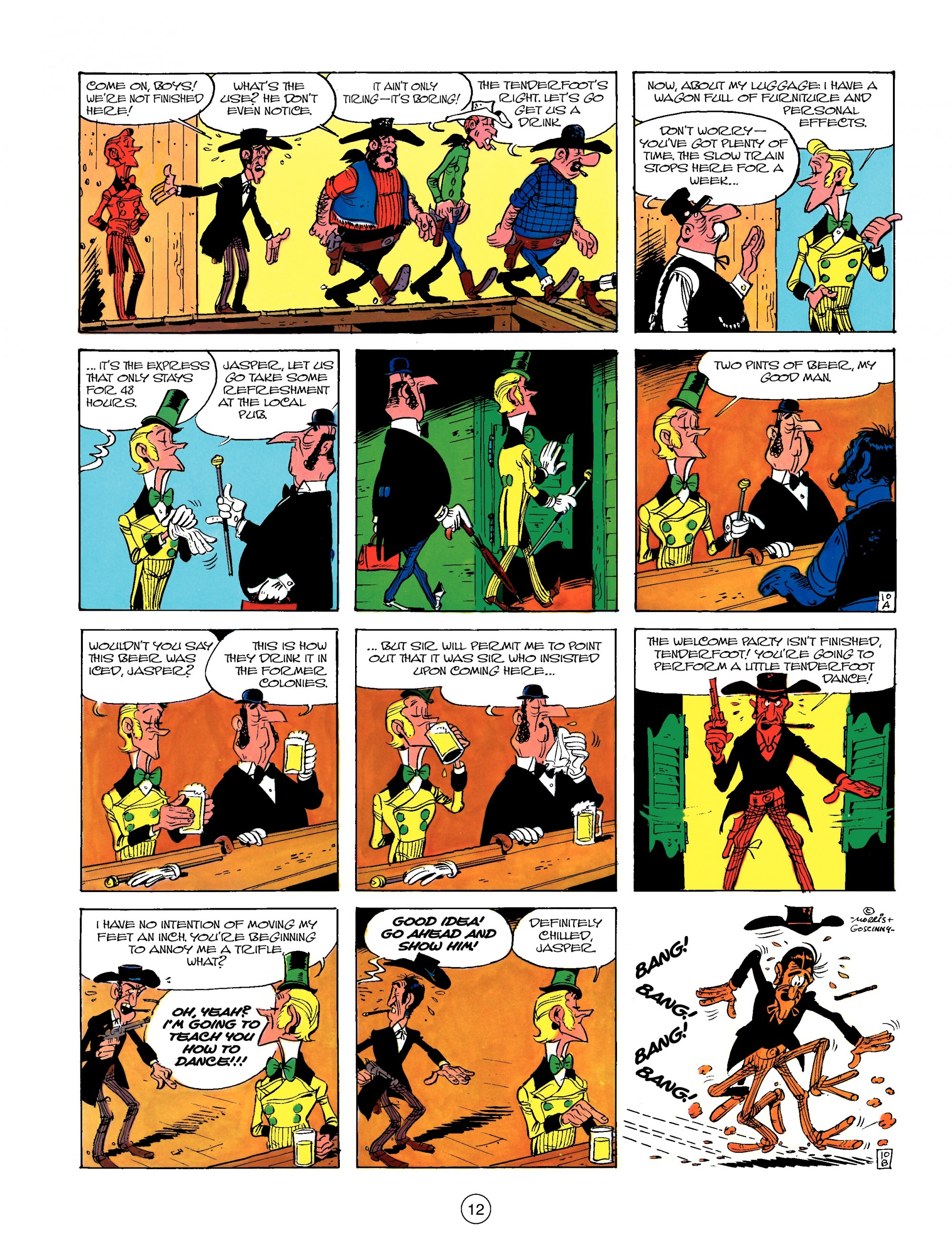 Read online A Lucky Luke Adventure comic -  Issue #13 - 12