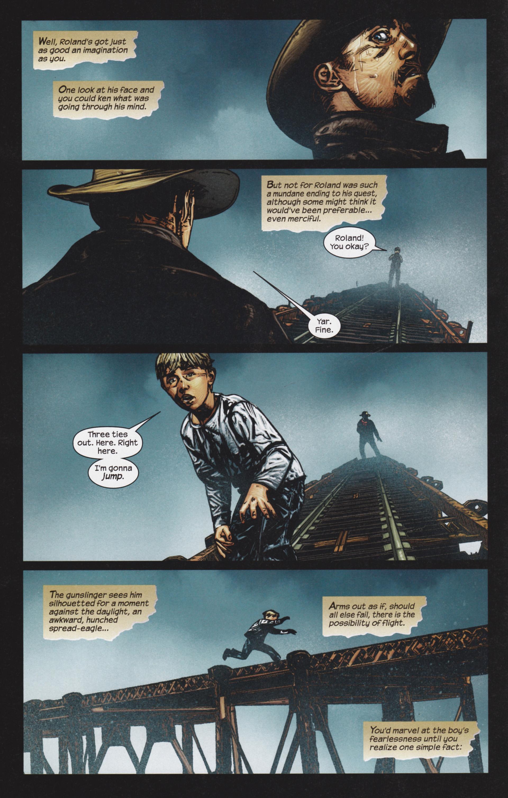 Read online Dark Tower: The Gunslinger - The Man in Black comic -  Issue #4 - 17