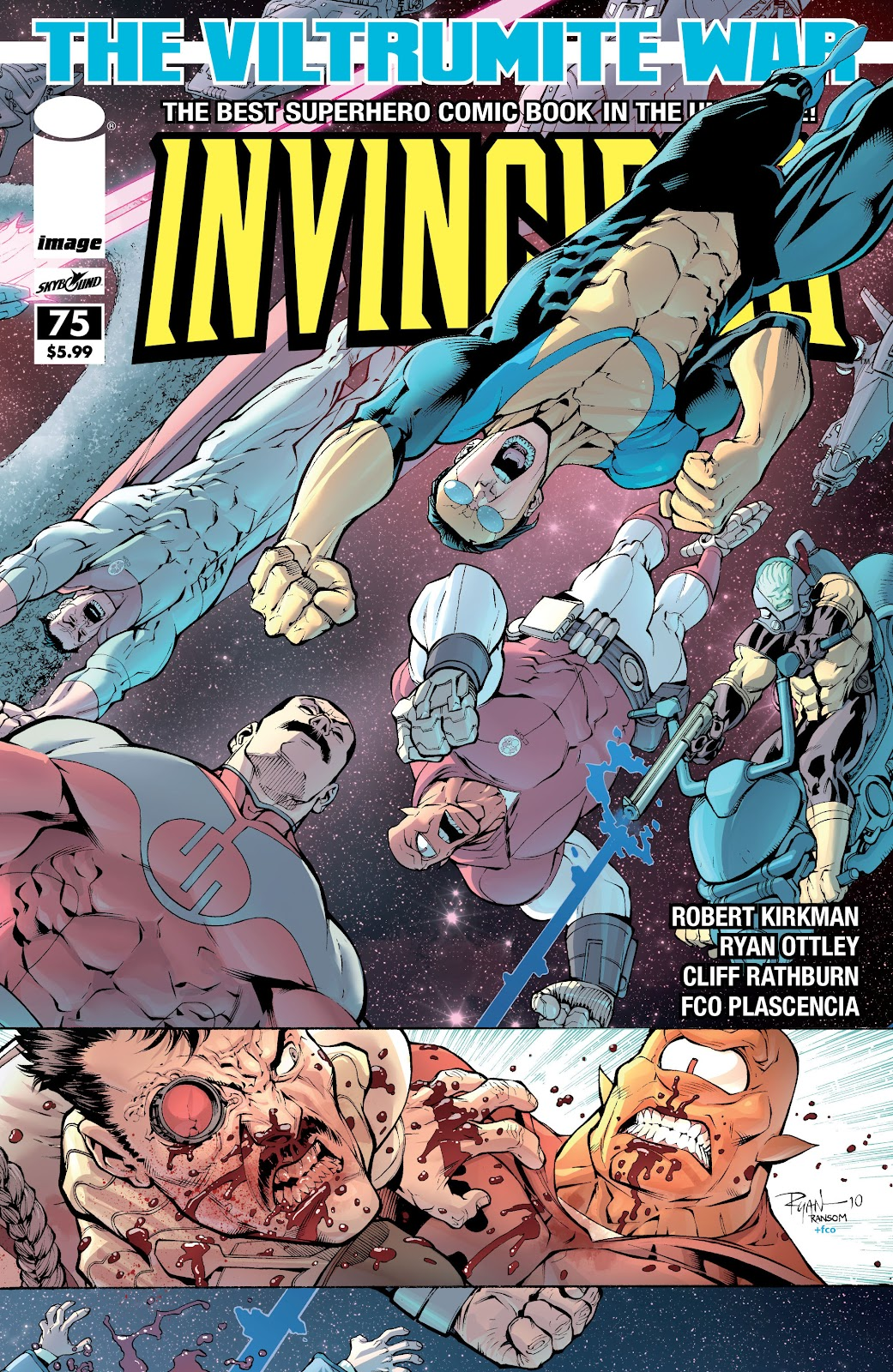 Invincible (2003) 75 Page 1