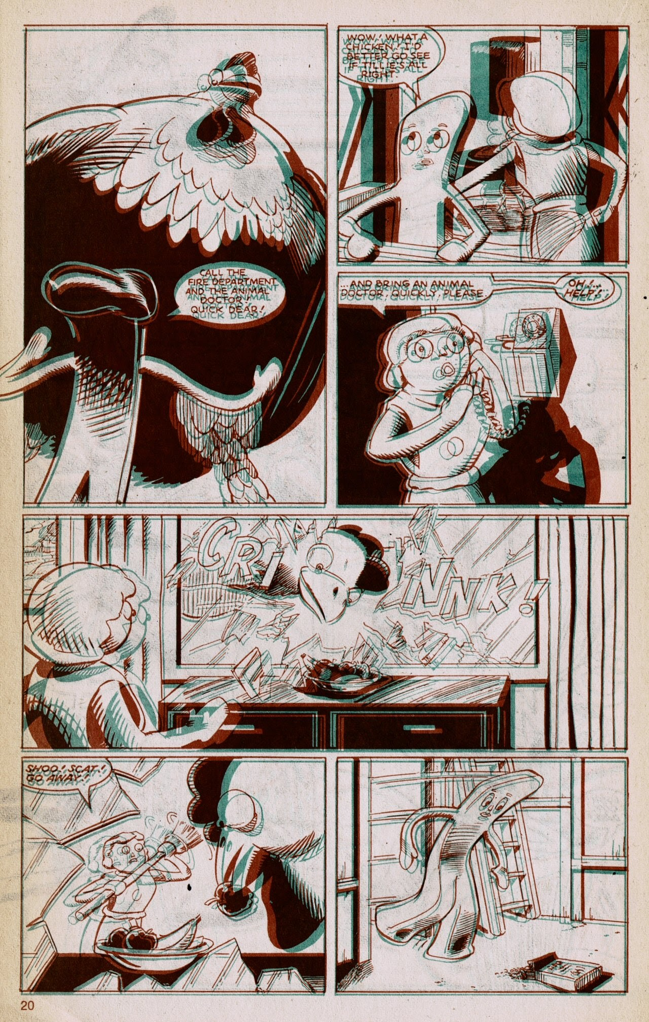 Gumby 3-D issue 1 - Page 22