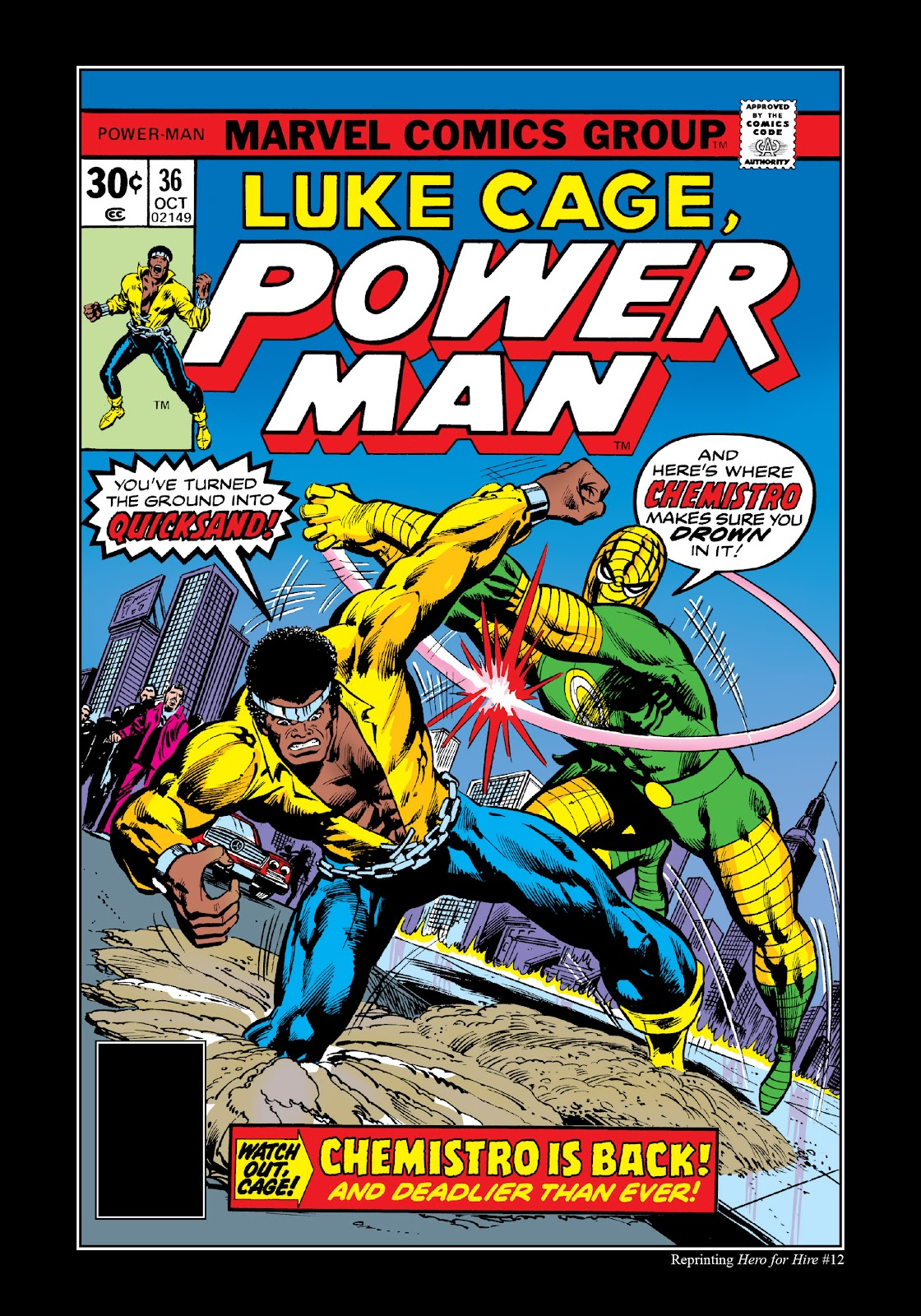 Read online Marvel Masterworks: Luke Cage, Power Man comic -  Issue # TPB 3 (Part 2) - 17