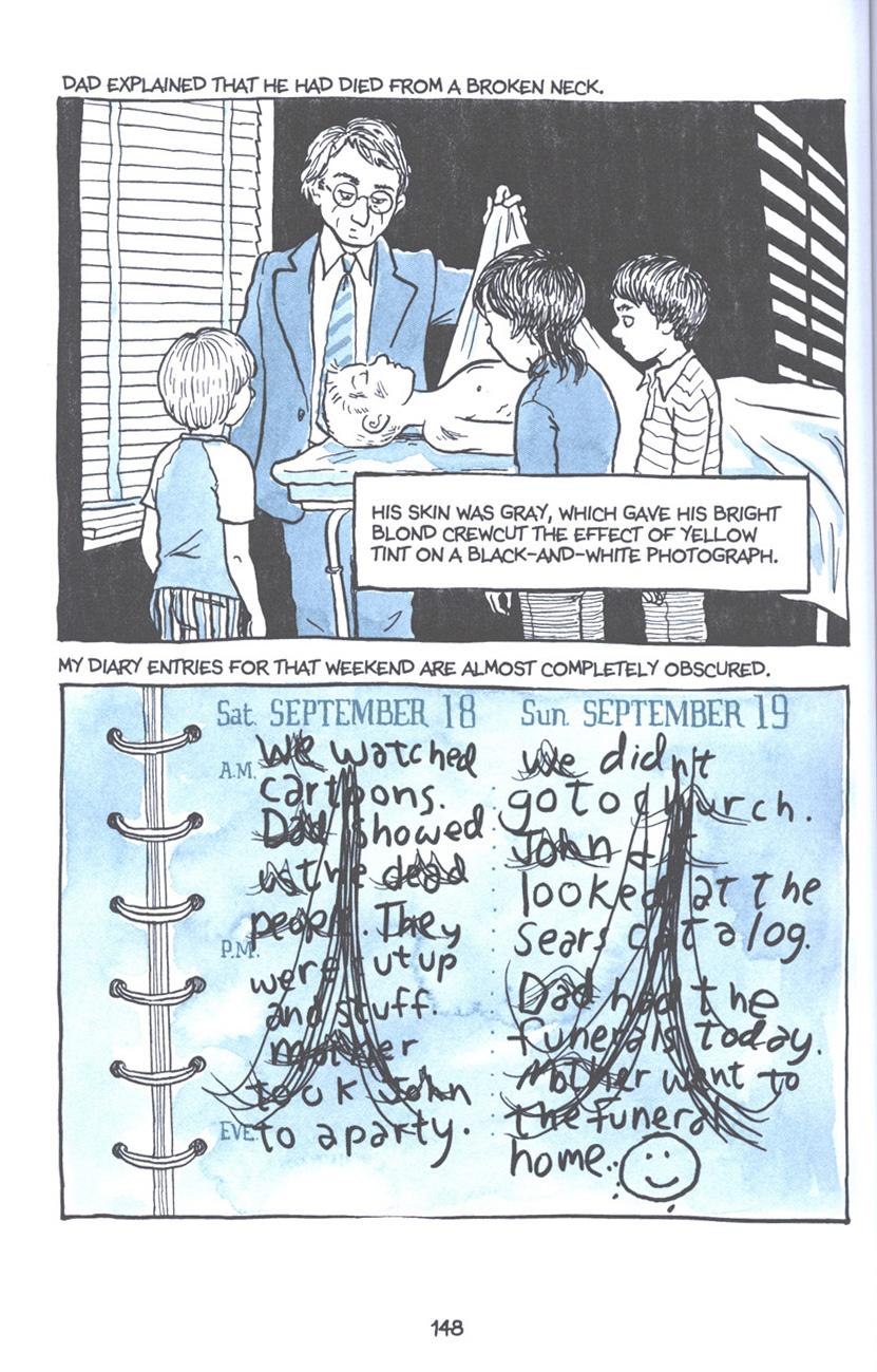 Read online Fun Home: A Family Tragicomic comic -  Issue # TPB - 154