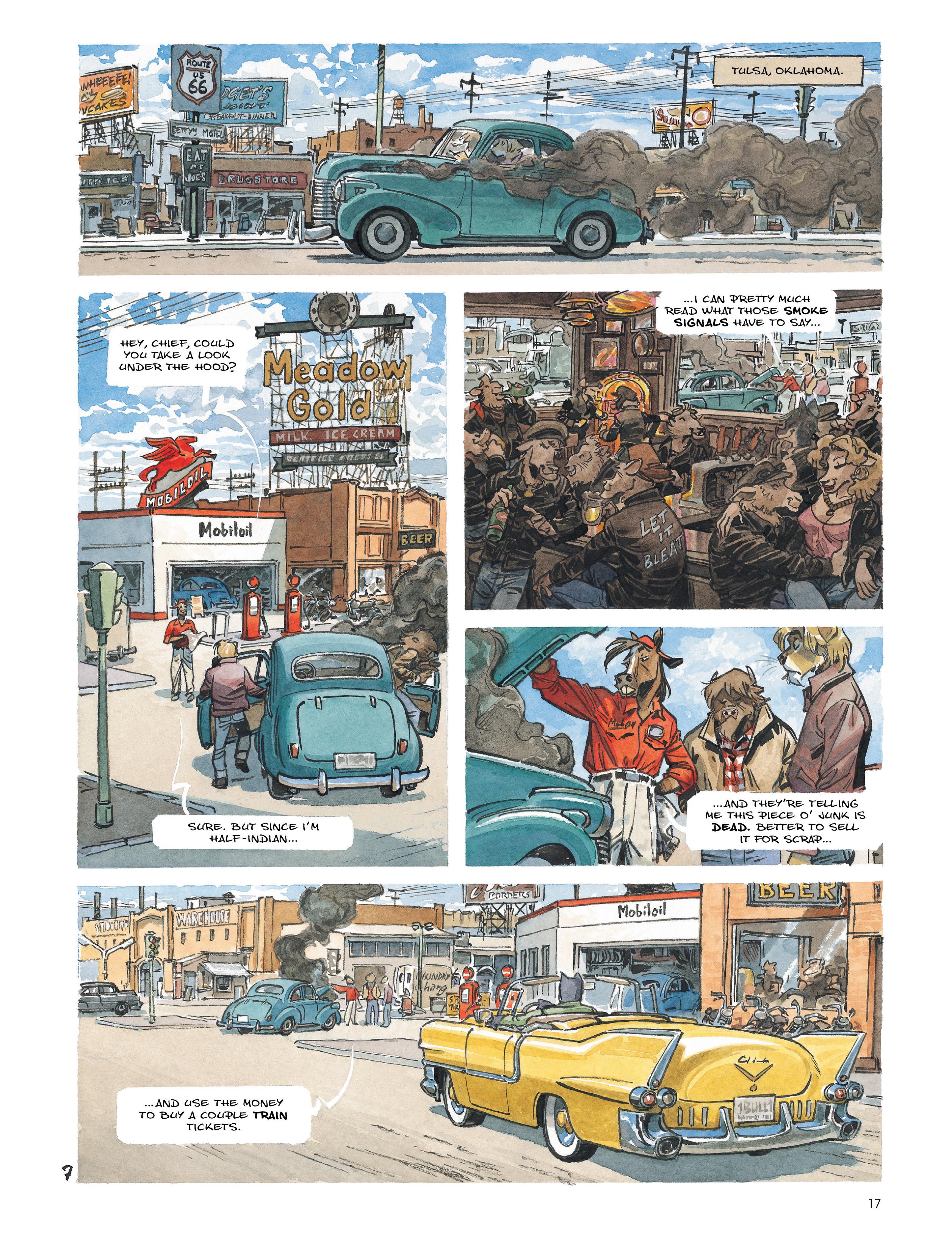 Read online Blacksad: Amarillo comic -  Issue # Full - 16