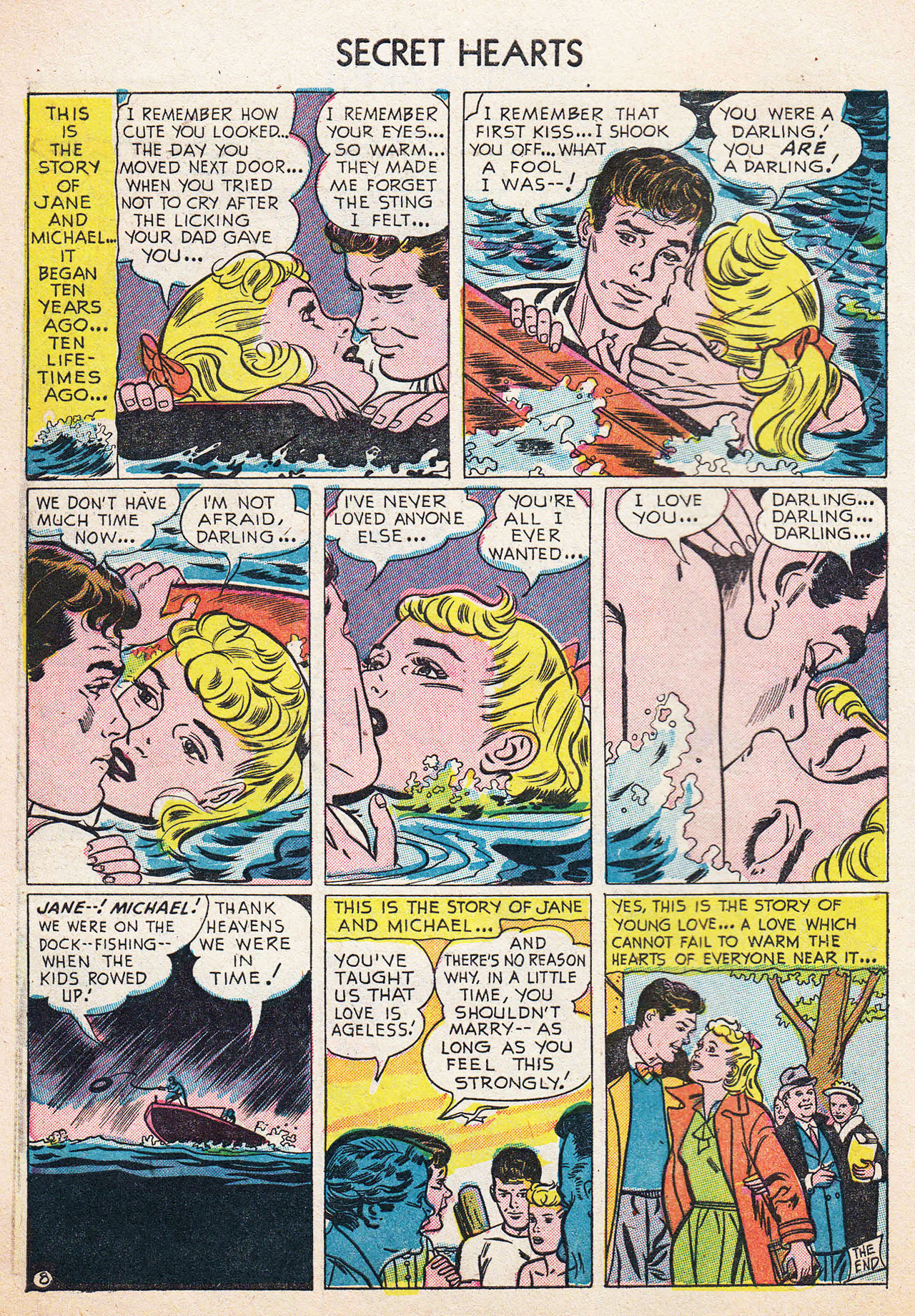 Read online Secret Hearts comic -  Issue #13 - 10