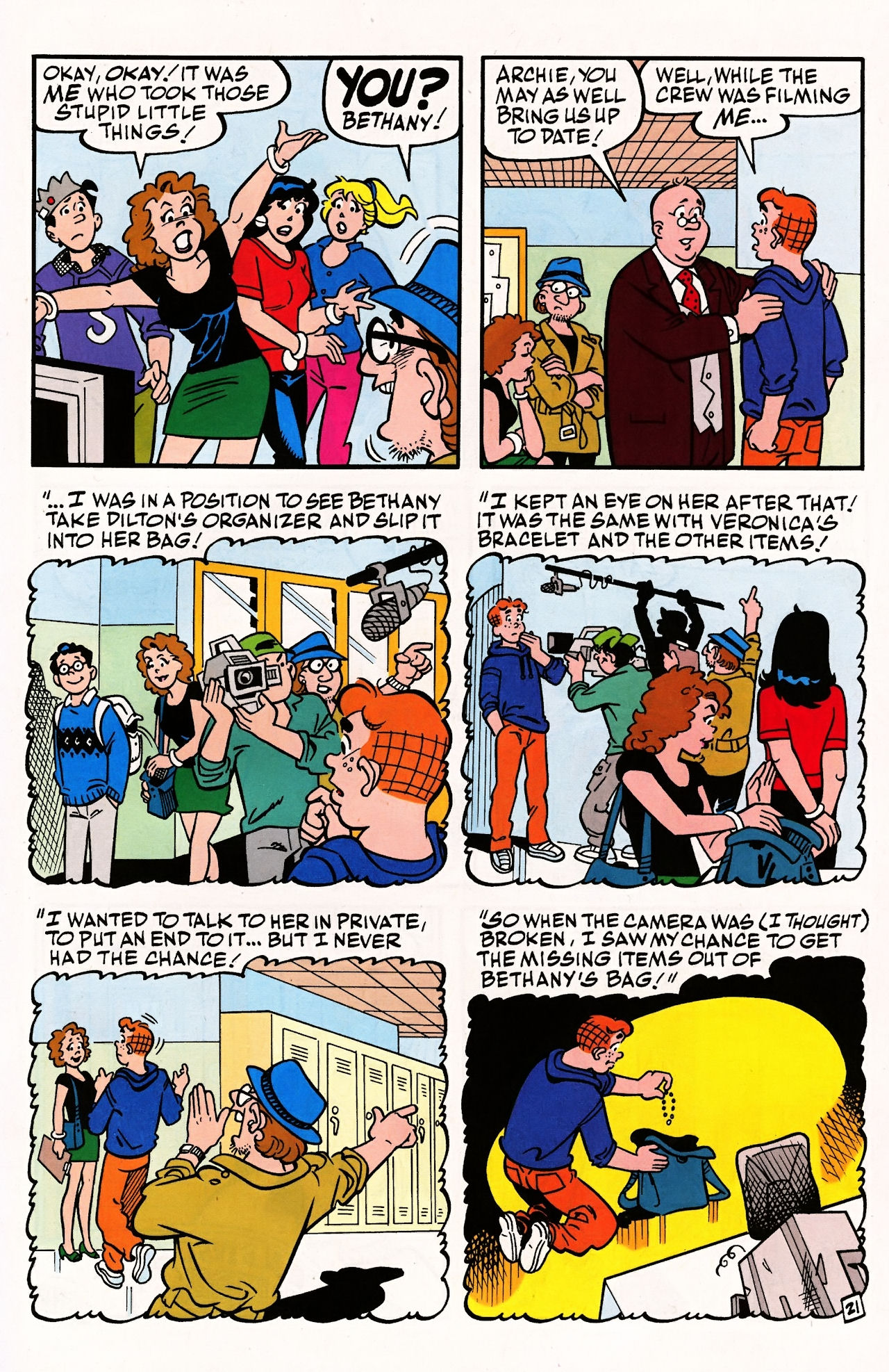 Read online Archie (1960) comic -  Issue #597 - 31