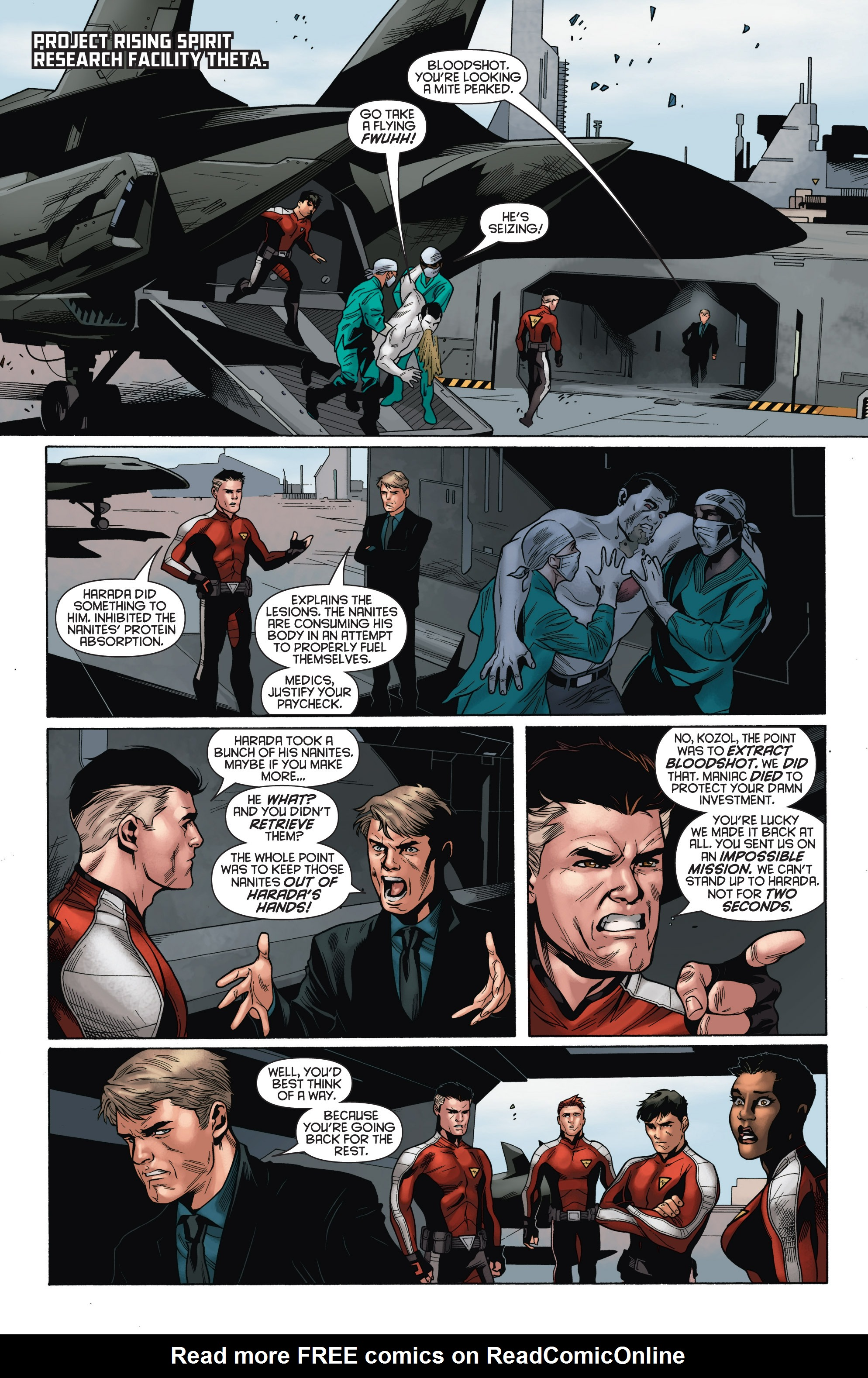 Read online Bloodshot and H.A.R.D.Corps comic -  Issue # TPB 4 - 42