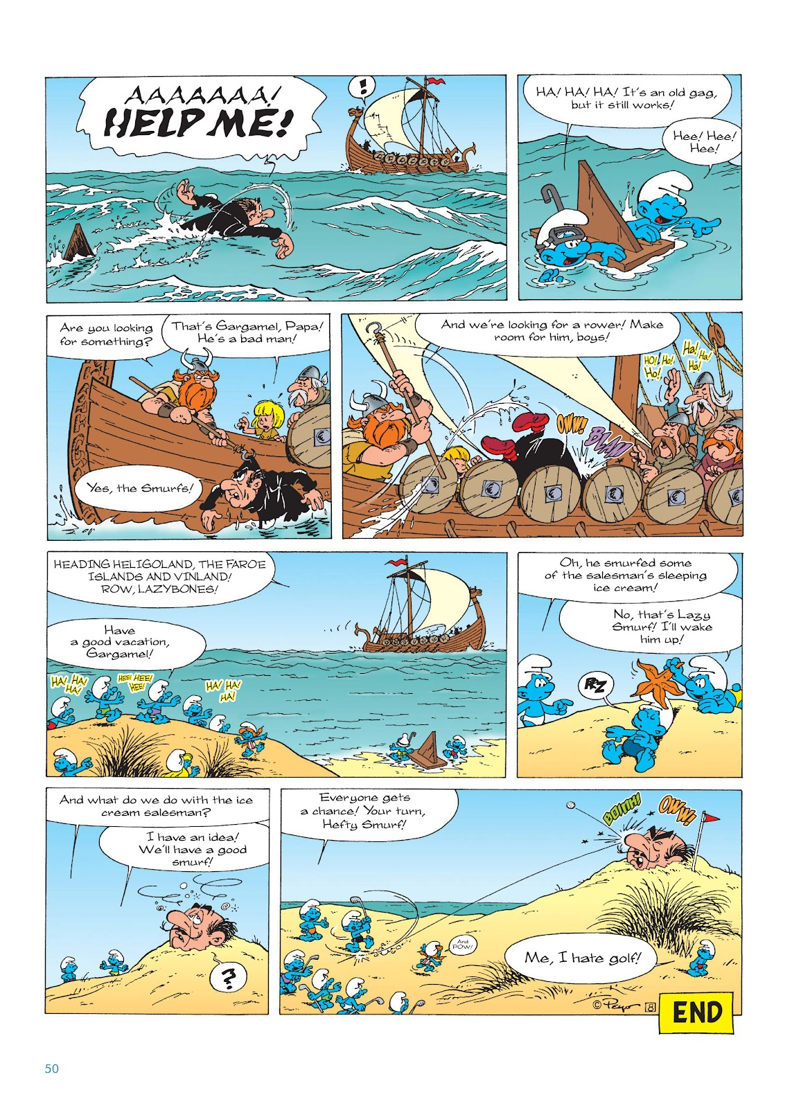 Read online The Smurfs comic -  Issue #17 - 50