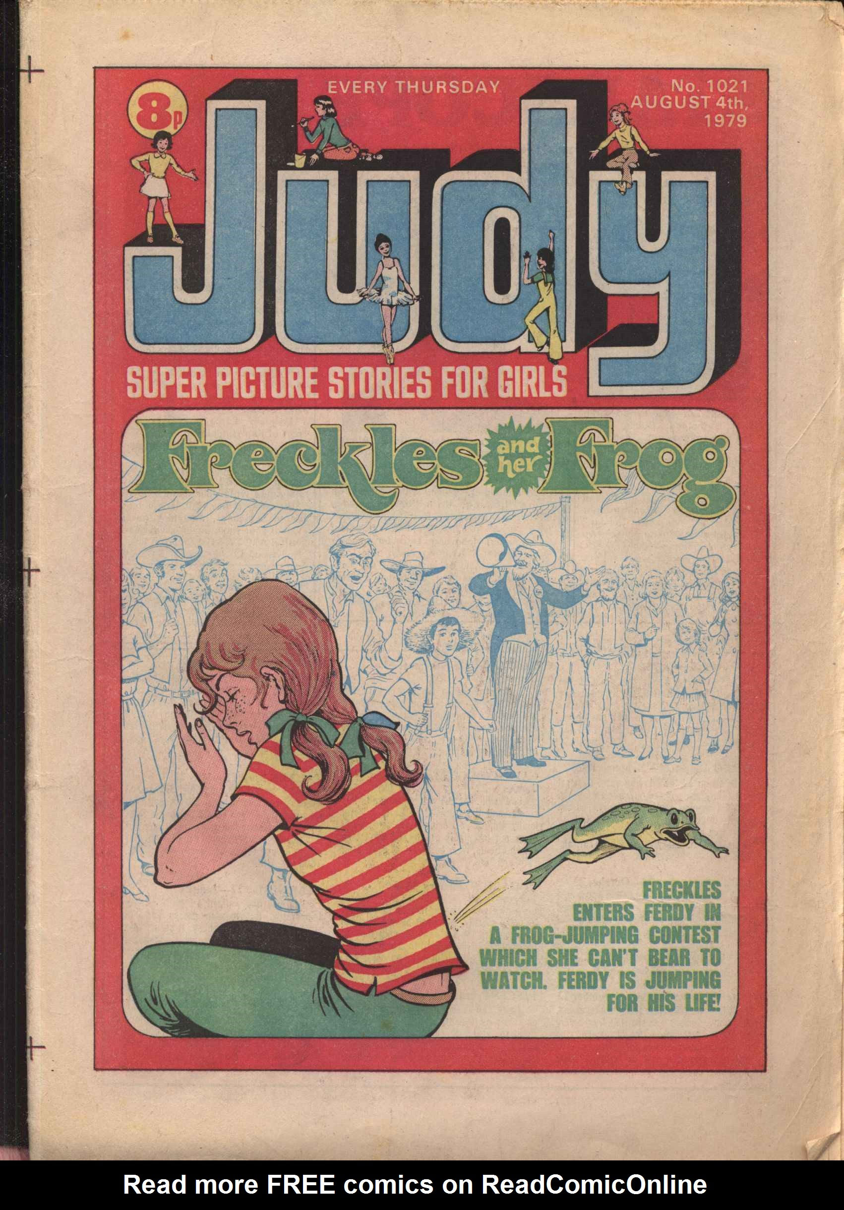 Read online Judy comic -  Issue #21 - 1