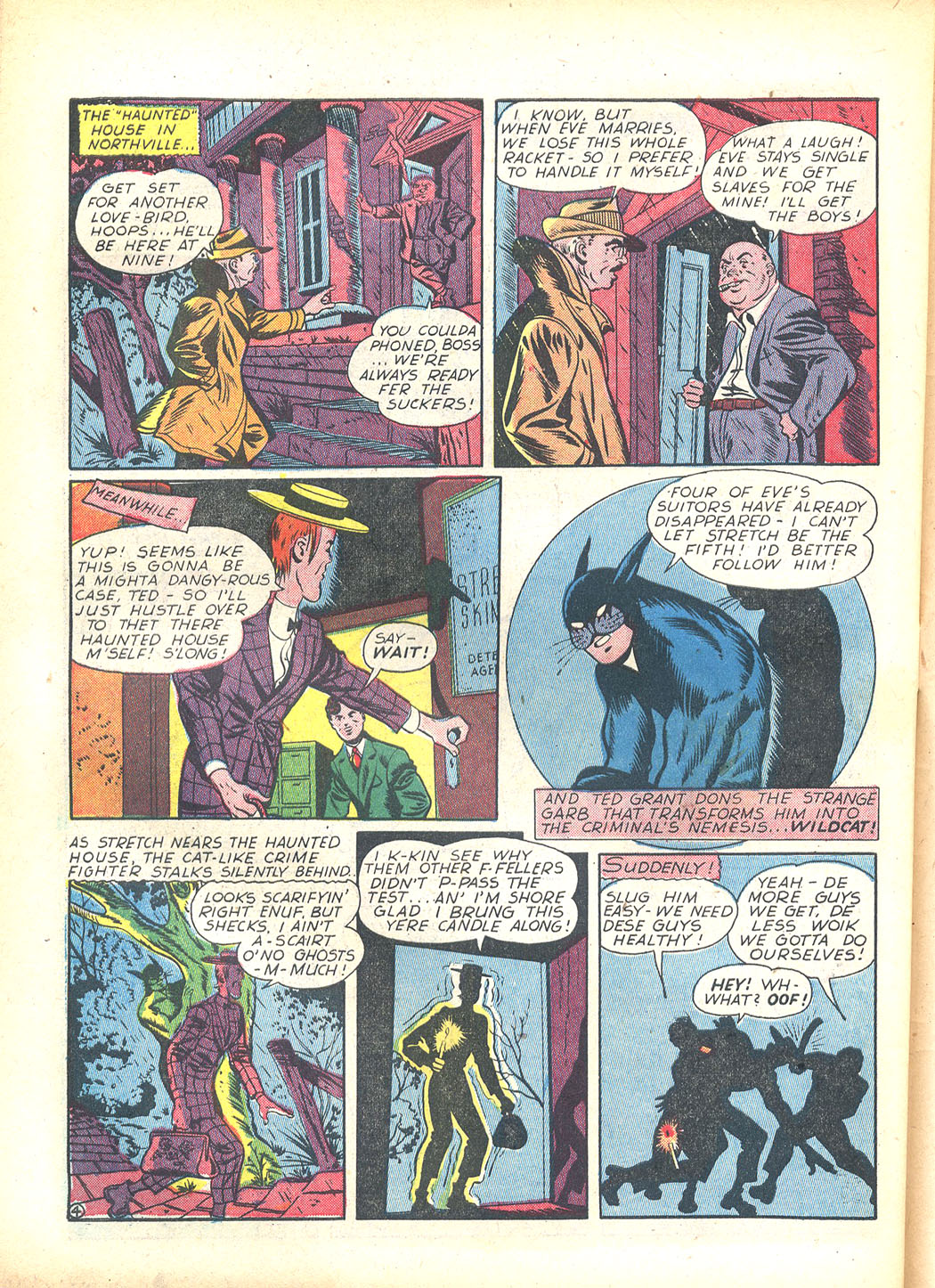 Read online Sensation (Mystery) Comics comic -  Issue #23 - 52
