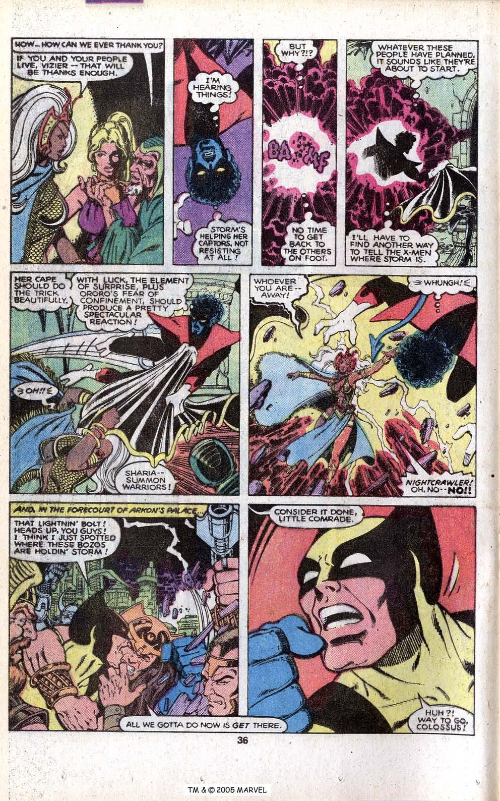 Read online Uncanny X-Men (1963) comic -  Issue # _Annual 3 - 38