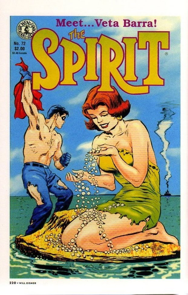 Read online Will Eisner's The Spirit Archives comic -  Issue # TPB 26 (Part 3) - 27