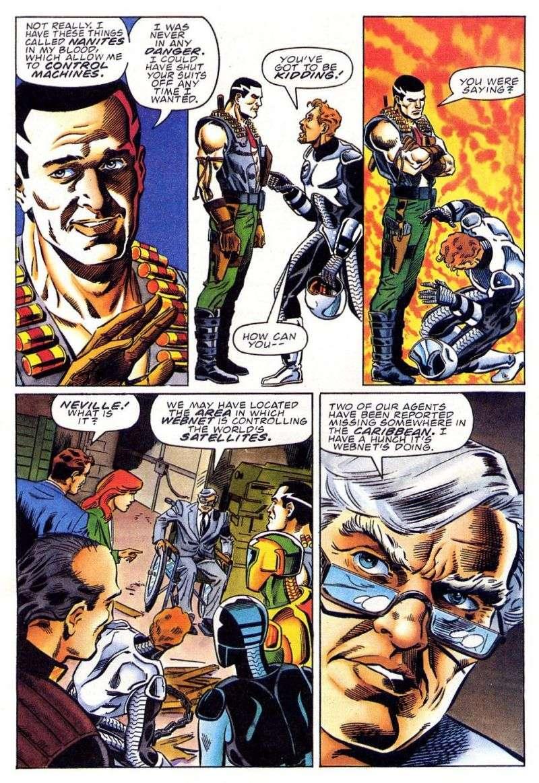 Read online Secret Weapons comic -  Issue #11 - 23