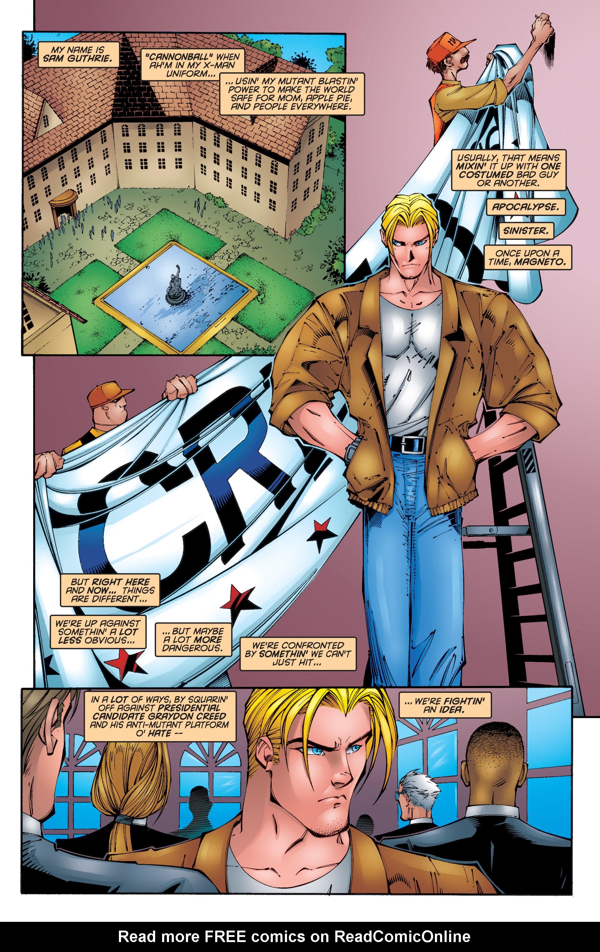 Read online Uncanny X-Men (1963) comic -  Issue #340 - 5