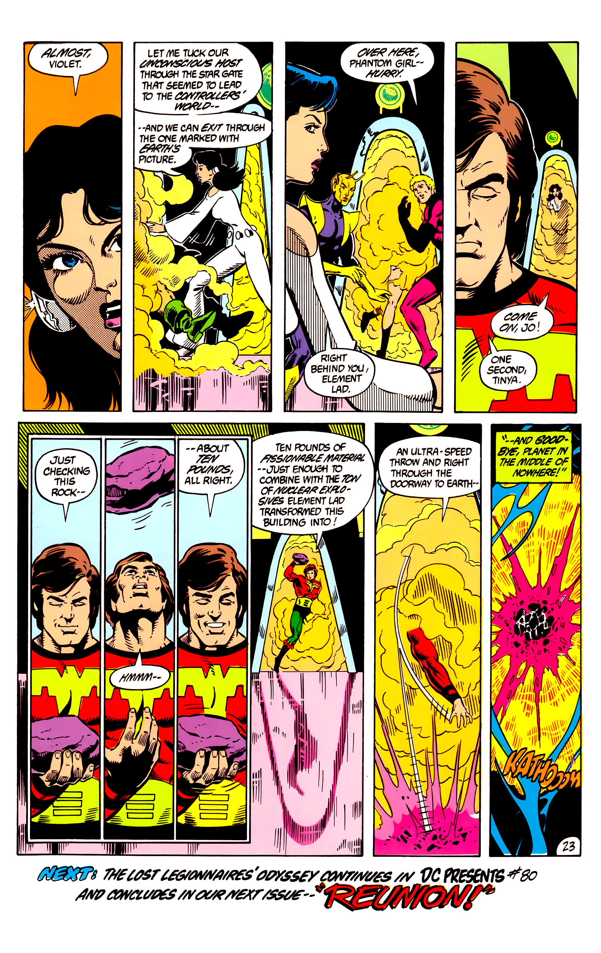 Legion of Super-Heroes (1984) 8 Page 24