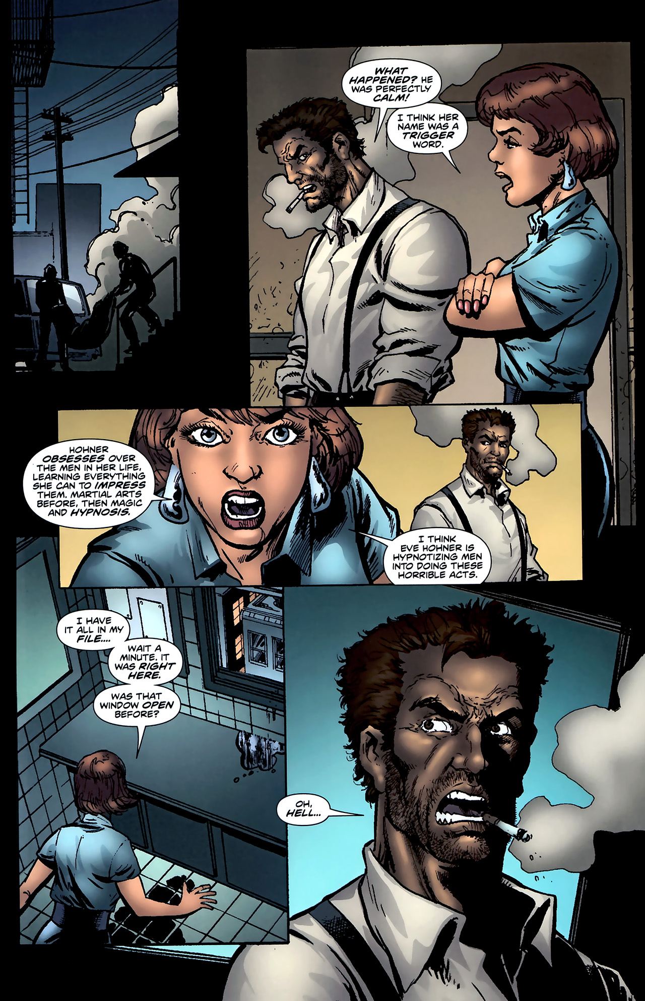 Read online ShadowHawk (2010) comic -  Issue #4 - 18