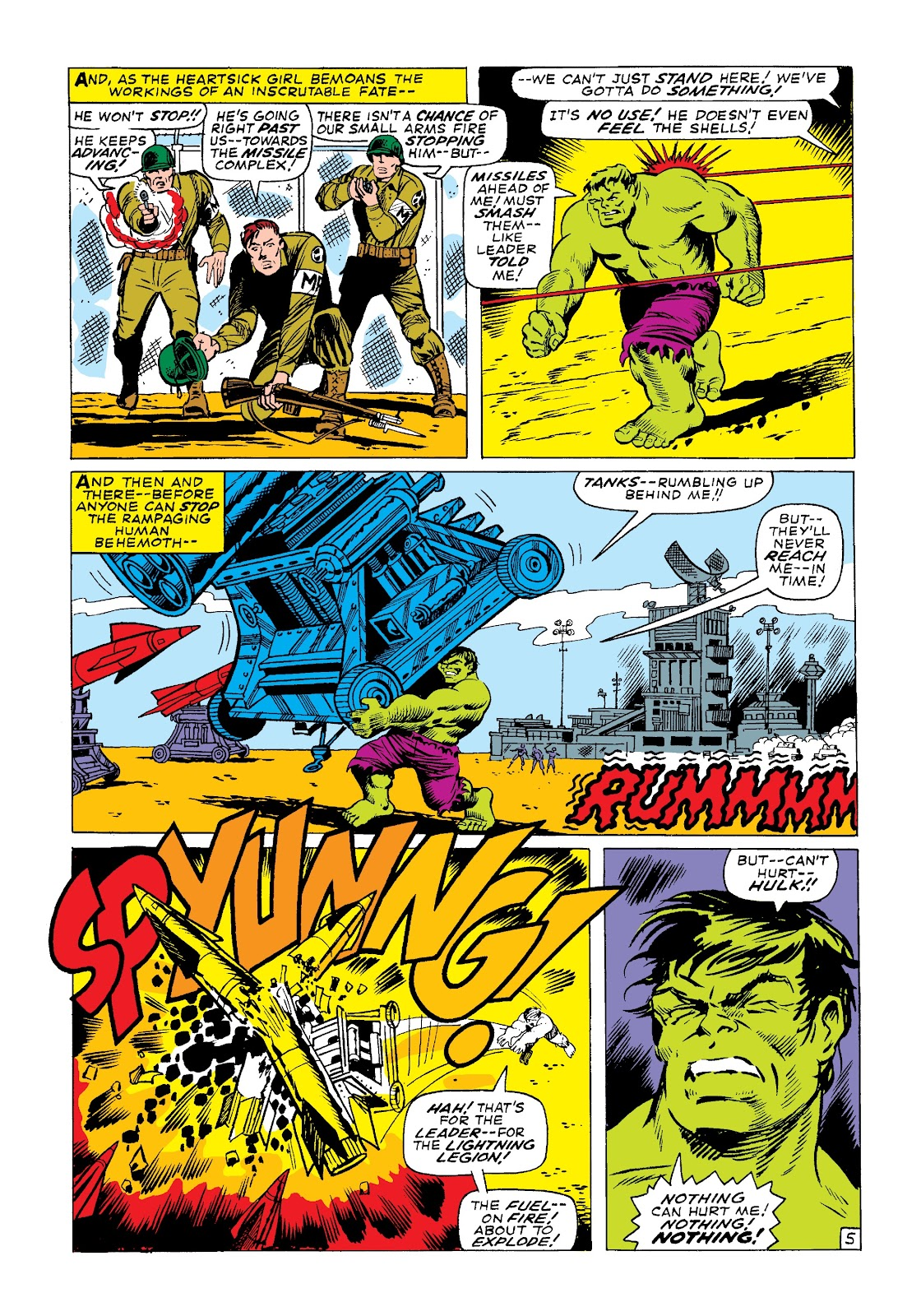Read online Marvel Masterworks: The Incredible Hulk comic -  Issue # TPB 3 (Part 3) - 10