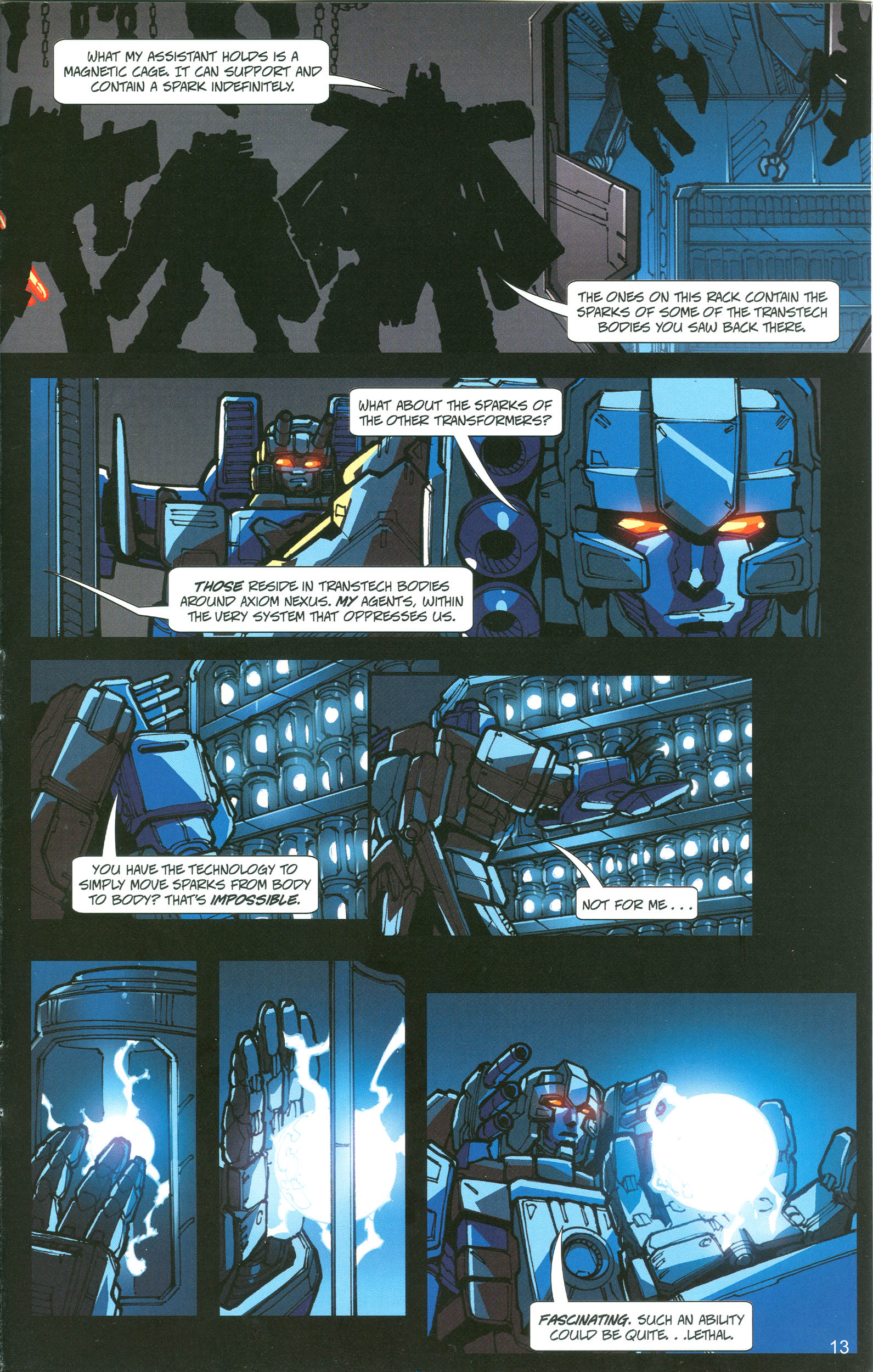 Read online Transformers: Collectors' Club comic -  Issue #21 - 13
