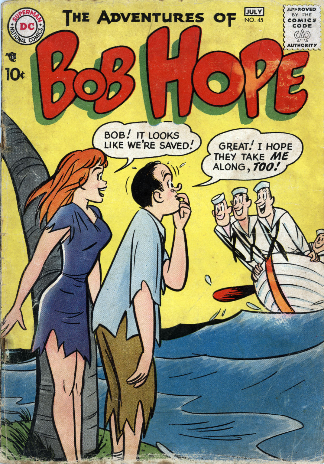 The Adventures of Bob Hope issue 45 - Page 1