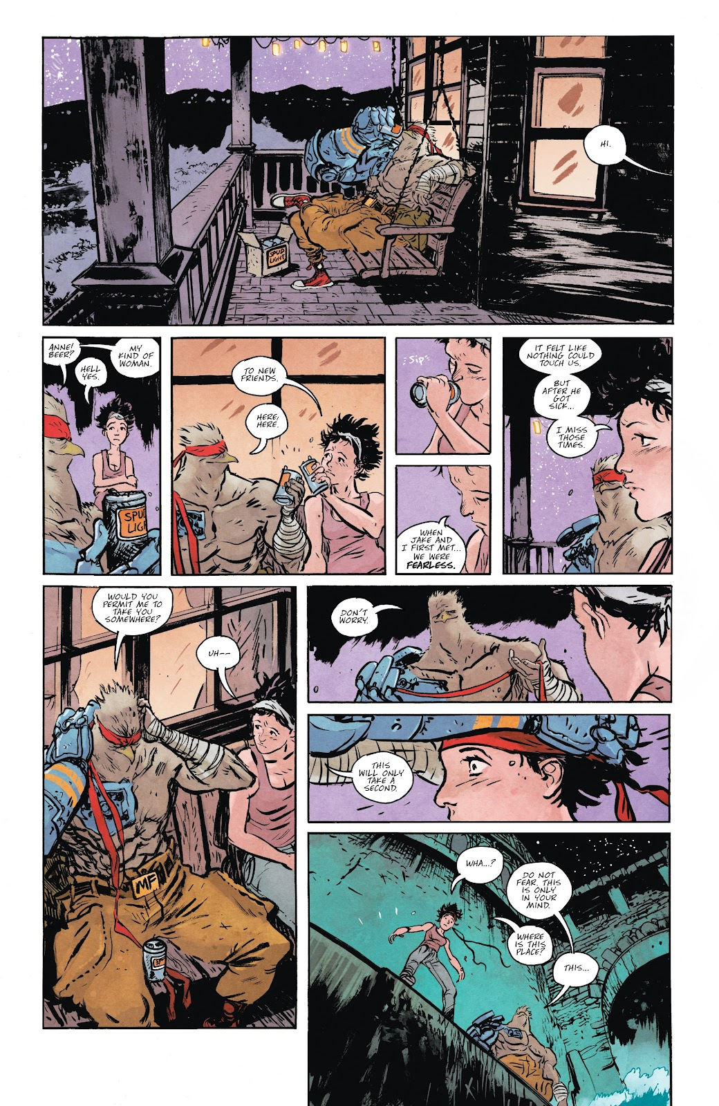Read online Murder Falcon comic -  Issue #5 - 13
